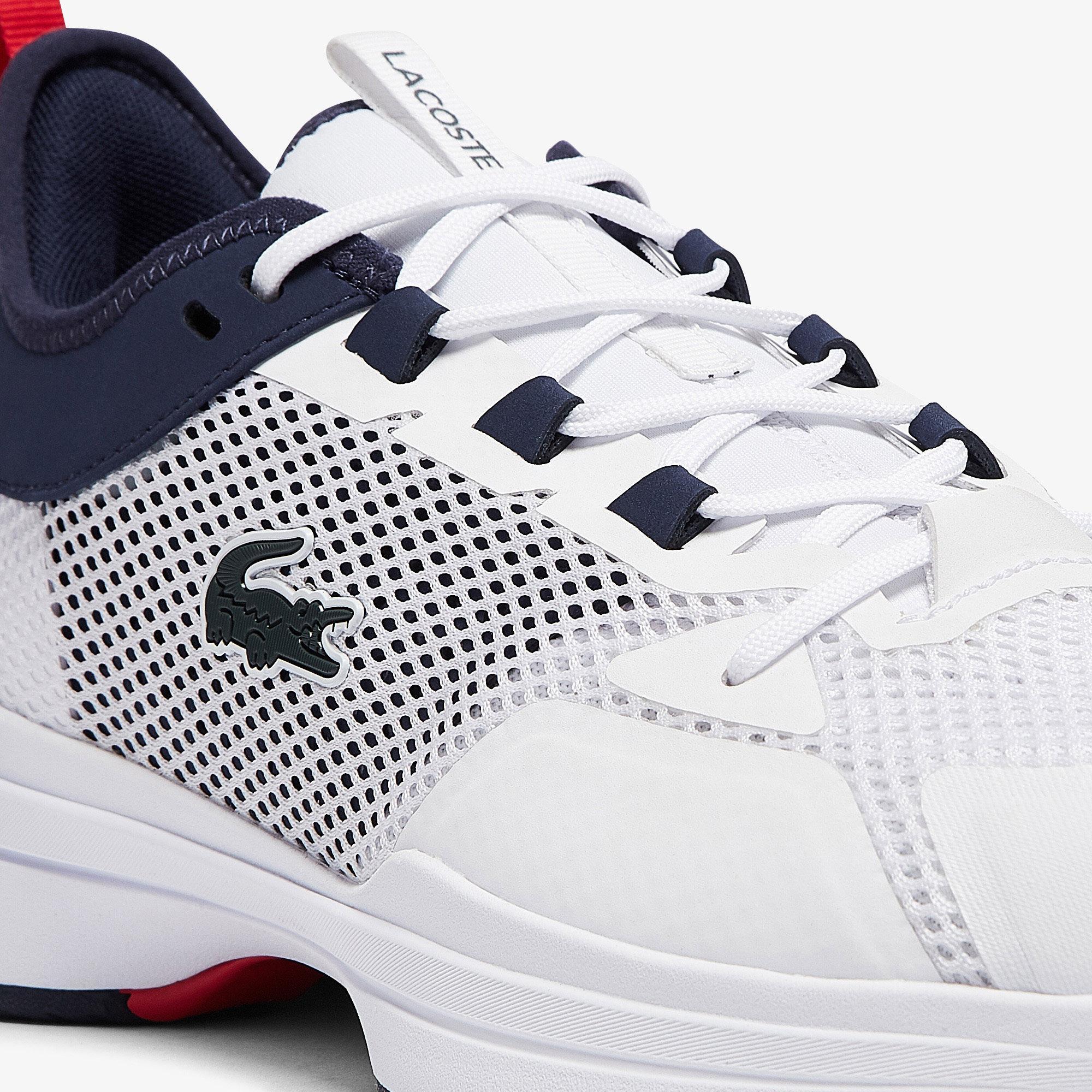 Lacoste Ag-Lt21 0921 1 Sma Erkek Beyaz - Mavi Spor Ayakkabı