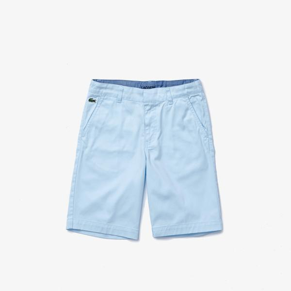 Lacoste Çocuk Açık Mavi Bermuda Şort