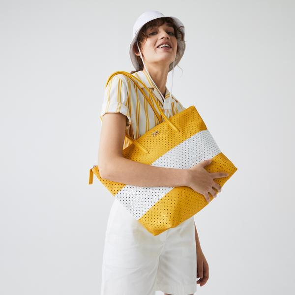 Lacoste Kadın Beyaz - Sarı Çanta