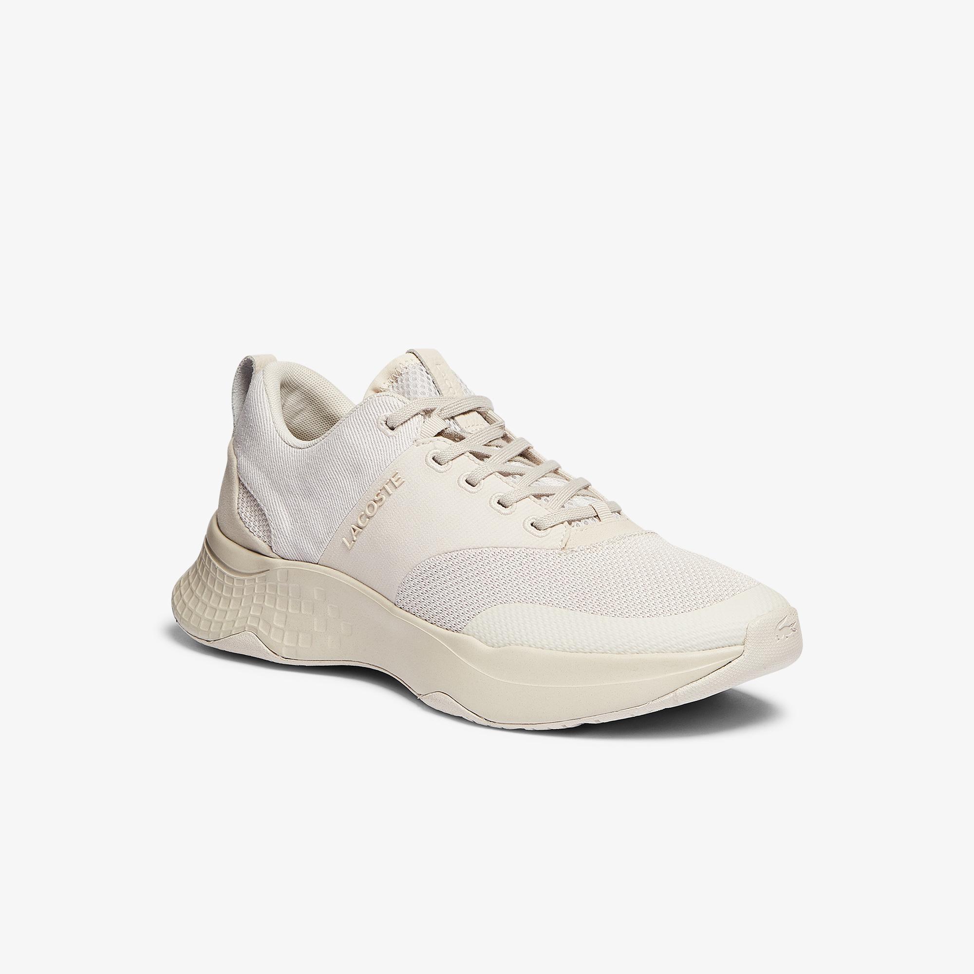Lacoste Court-Drive Plus09211Sma Erkek Bej Sneaker