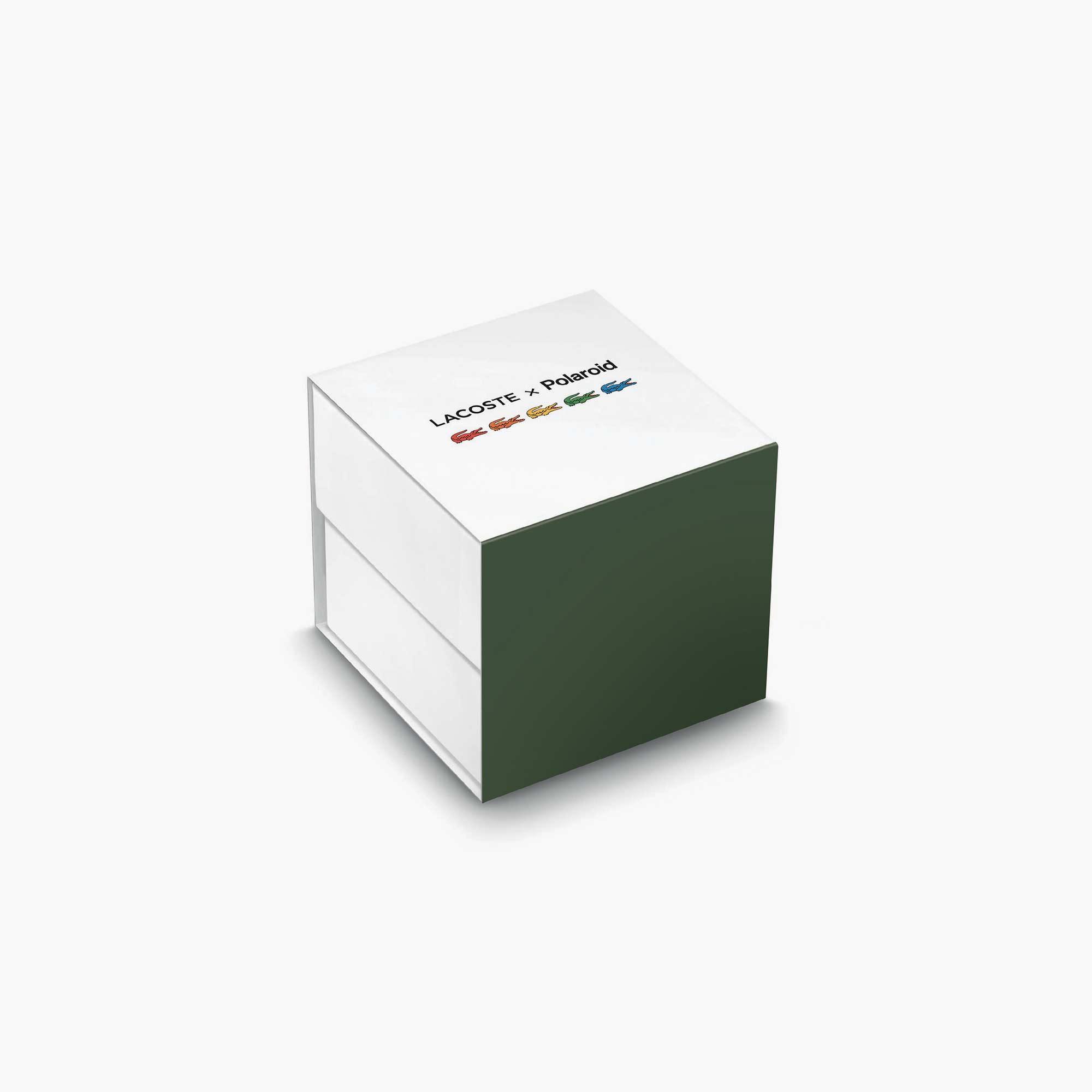 Lacoste X Polaroid Unisex Beyaz Saat