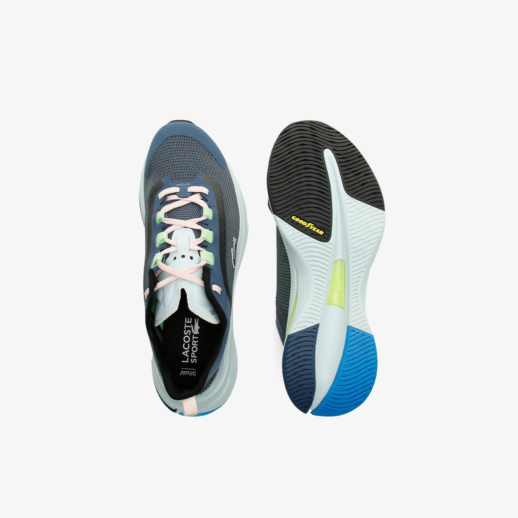 Lacoste Run Spin Ultra 0921 1 Sfa Kadın Siyah - Mavi Sneaker