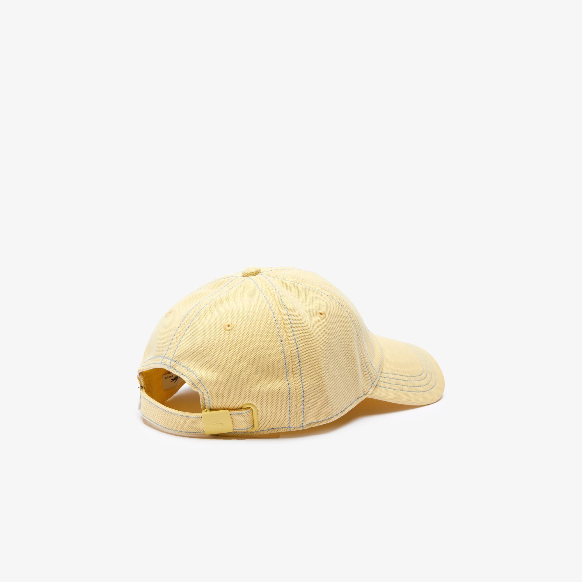 Lacoste Erkek Nakışlı Sarı Şapka