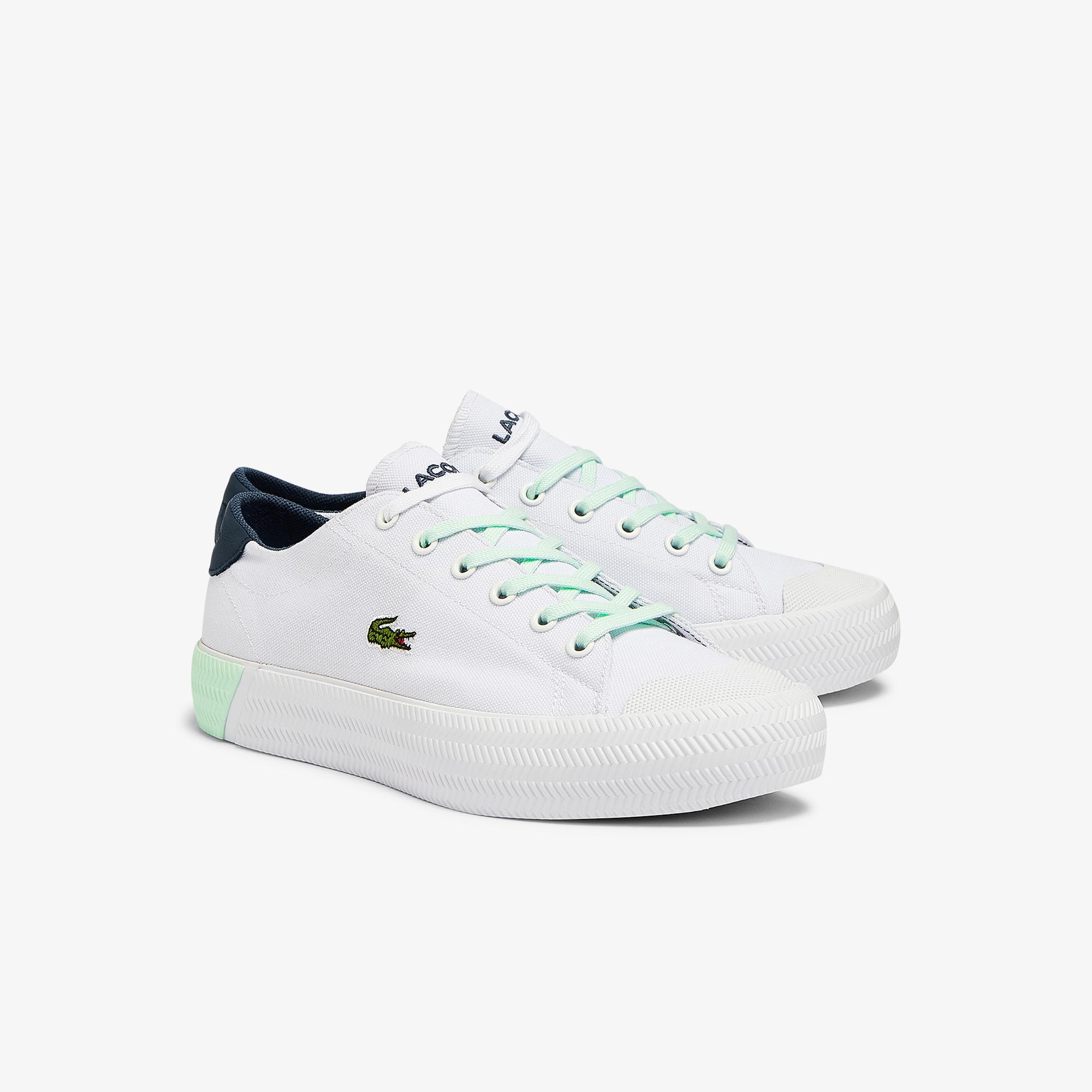 Lacoste Gripshot 0721 6 Cfa Kadın Beyaz - Mavi Sneaker