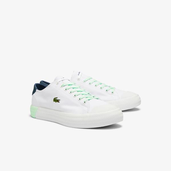 Lacoste Gripshot 0721 4 Cma Erkek Beyaz - Açık Mavi Sneaker