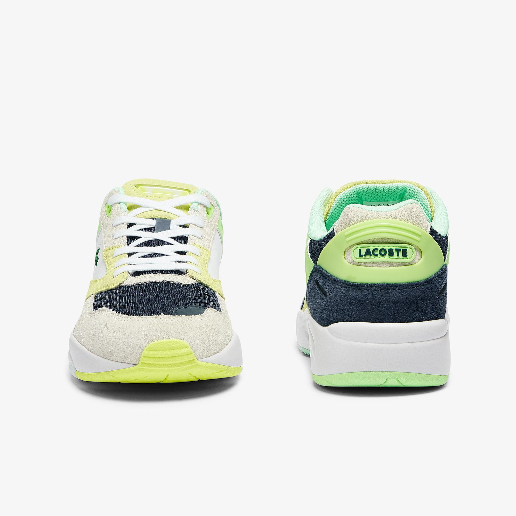 Lacoste Storm 96 Lo 0721 3 Sma Erkek Beyaz - Lacivert - Mavi Sneaker
