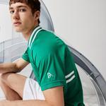 Lacoste Sport Novak Djokovic Erkek Yeşil Polo