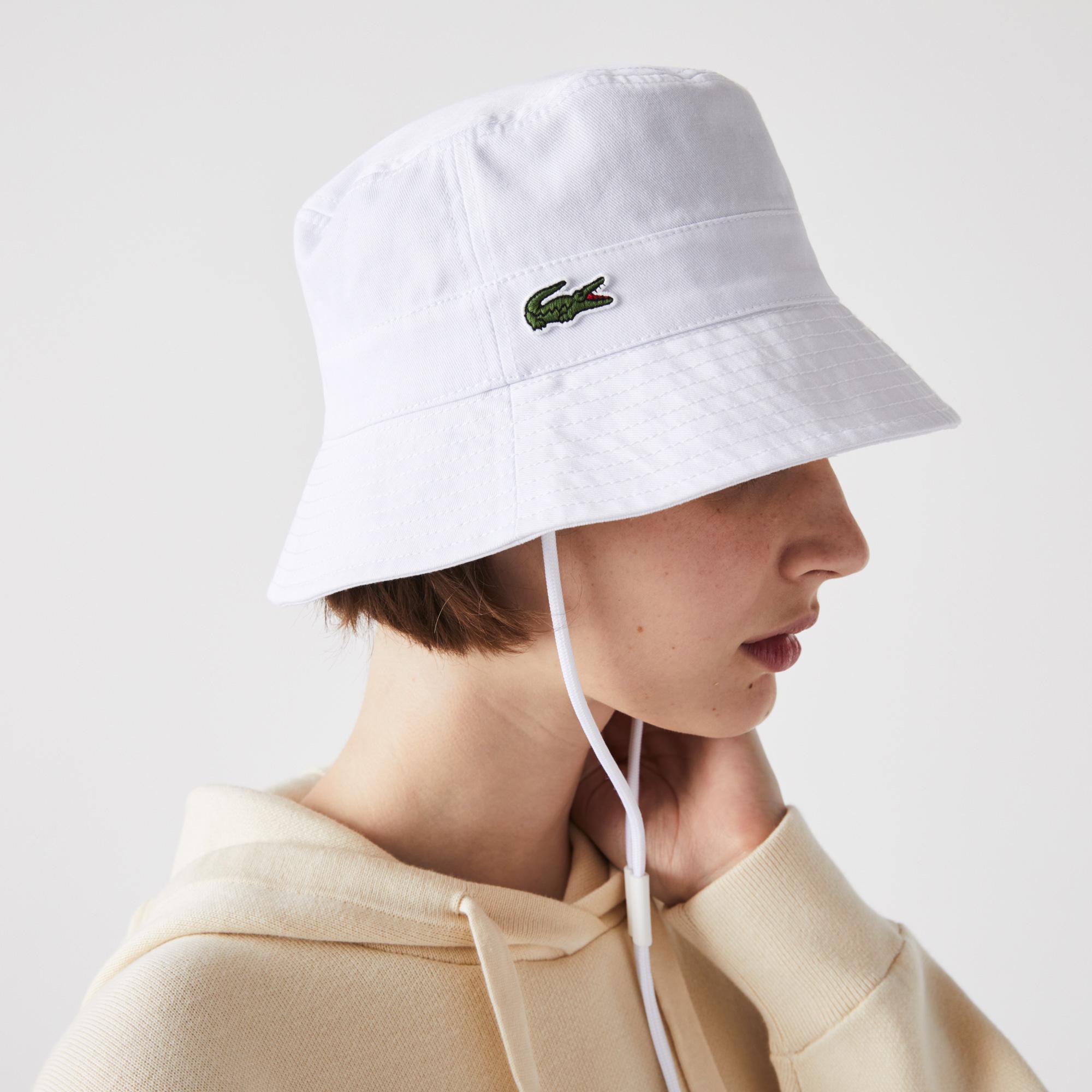 Lacoste Kadın Beyaz Şapka