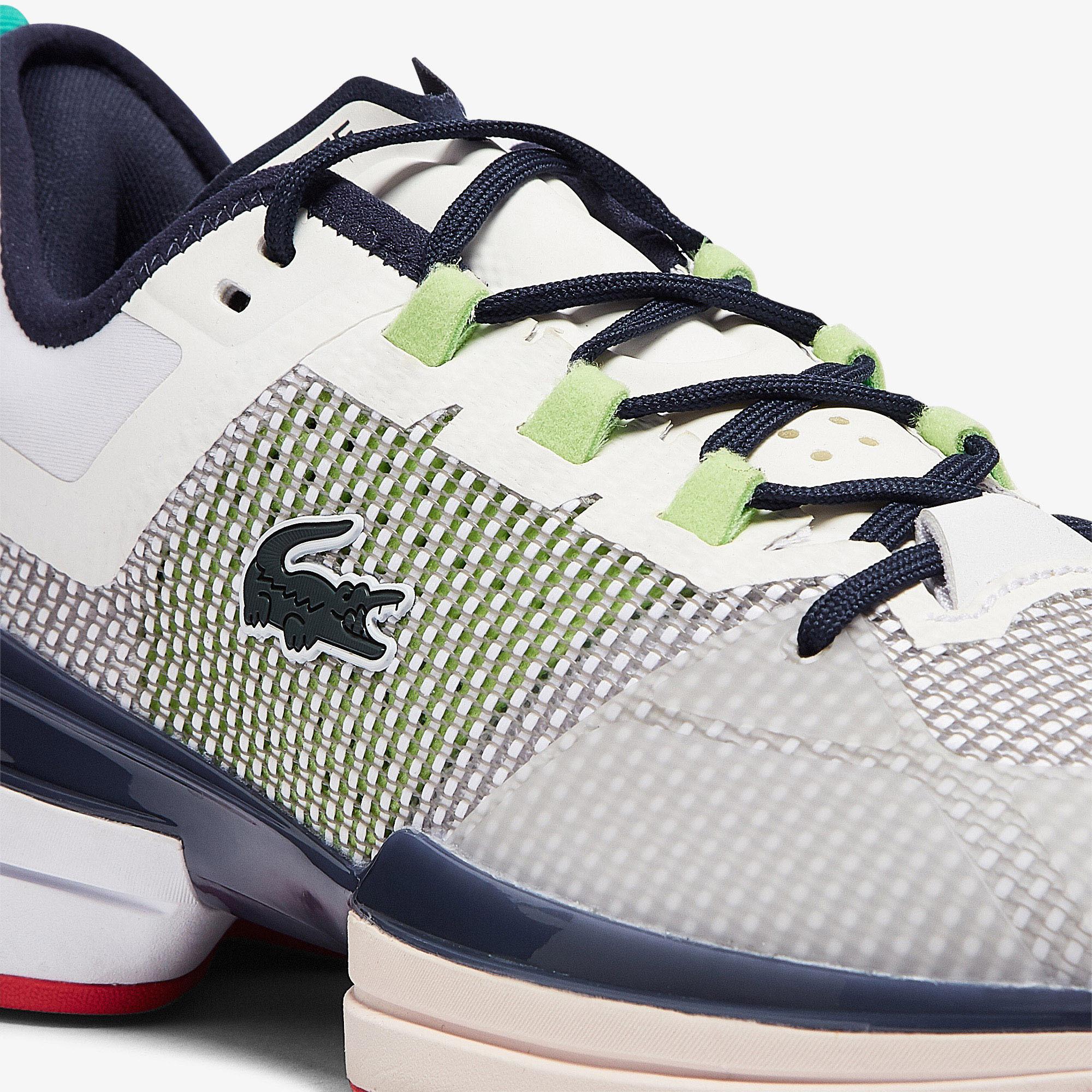 Lacoste Ag-Lt21 Ultra 0921 1 Sma Erkek Beyaz - Mavi Spor Ayakkabı