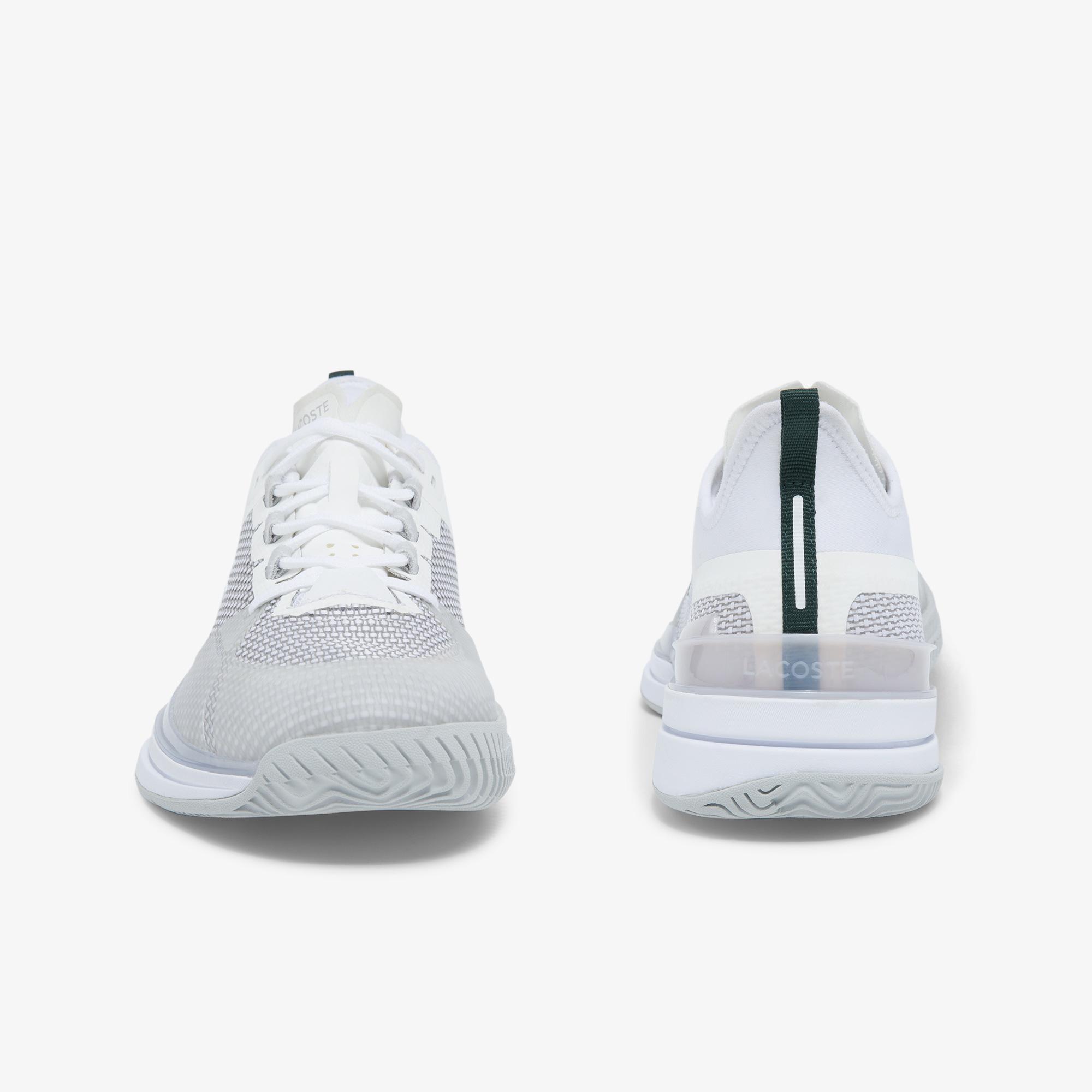 Lacoste Ag-Lt21 Ultra 0921 1 Sma Erkek Beyaz - Açık Gri Spor Ayakkabı