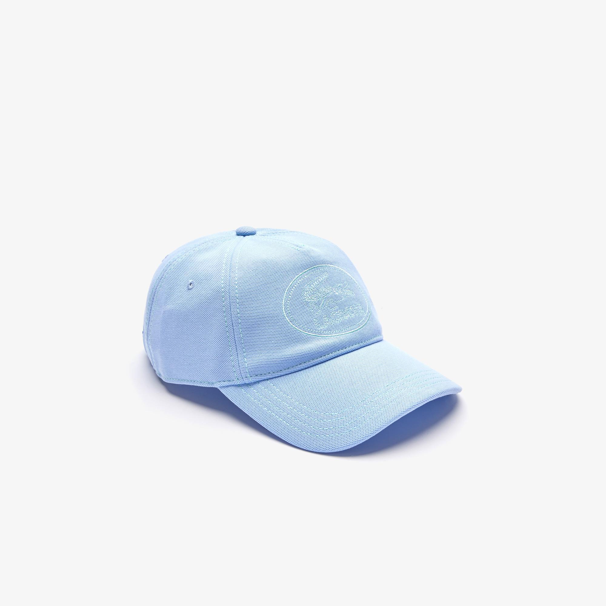 Lacoste Erkek Nakışlı Mavi Şapka