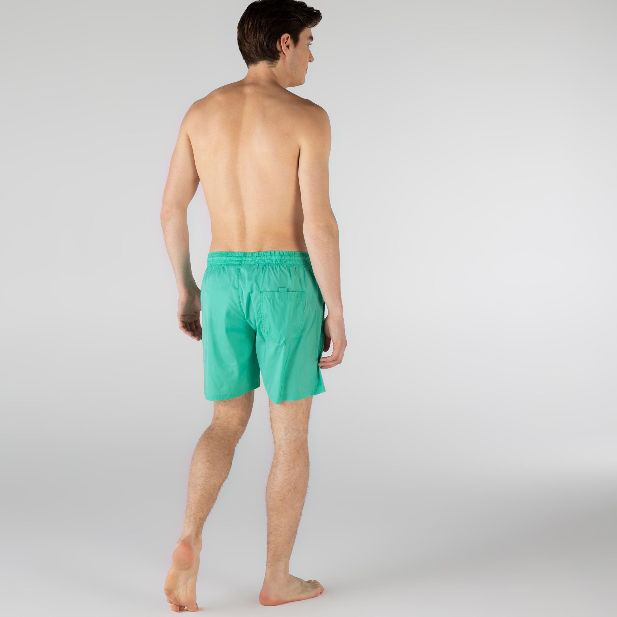 Lacoste Erkek Yeşil Şort Mayo
