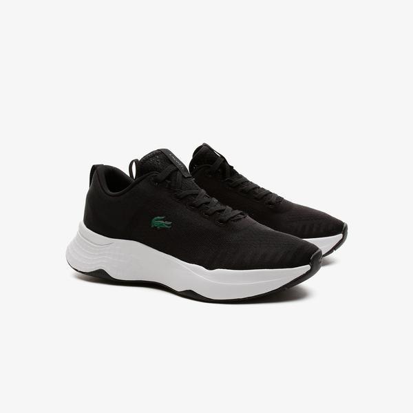Lacoste Court-Drive Fly 07211 Sfa Kadın Siyah - Beyaz Sneaker