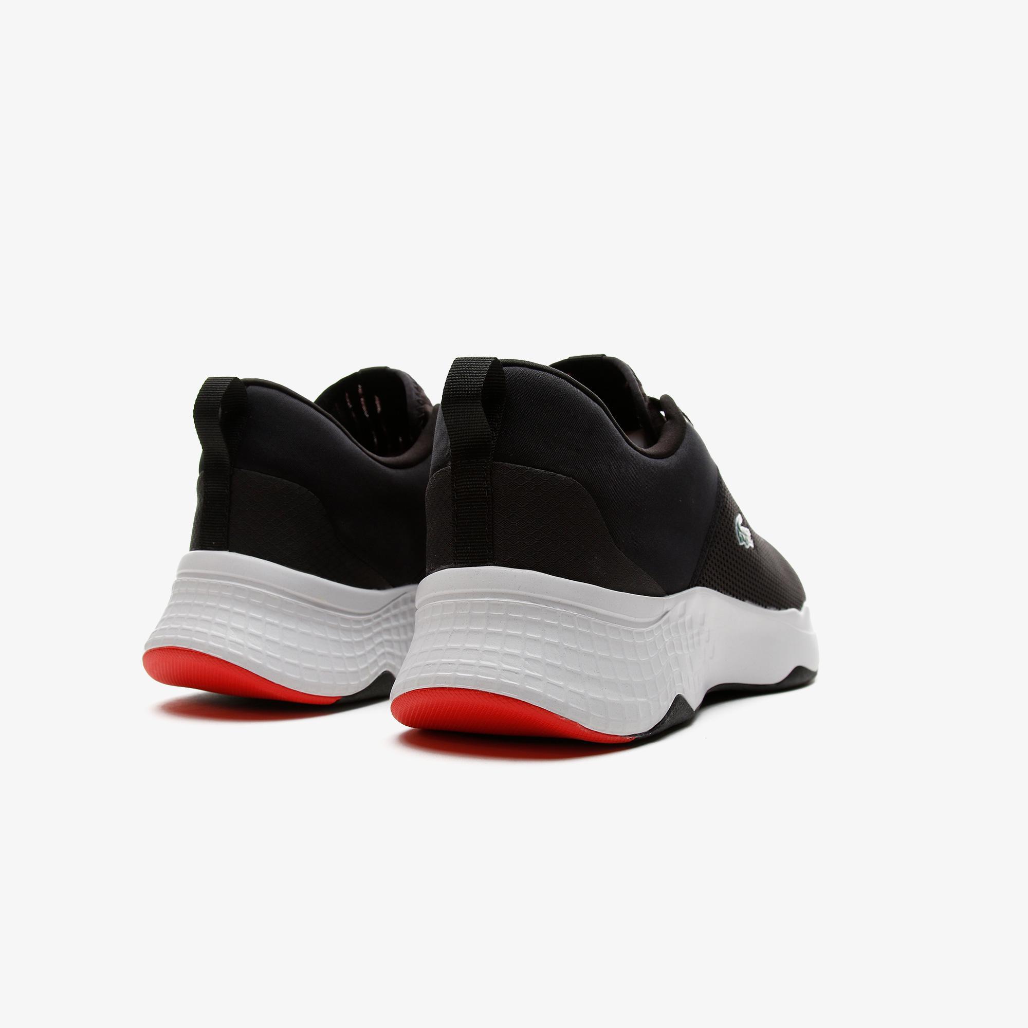 Lacoste Court-Drive 0721 1 Sma Erkek Siyah - Kırmızı Sneaker
