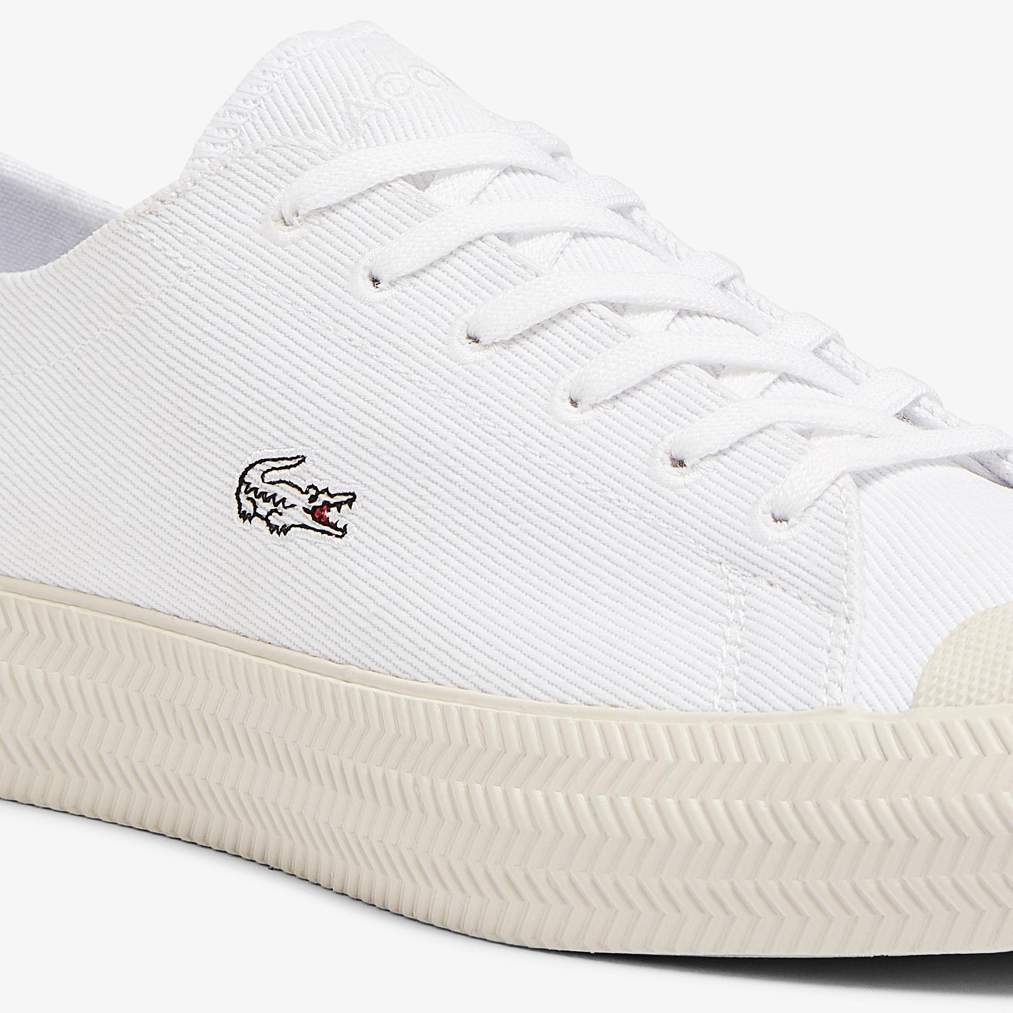 Lacoste Gripshot 1121 1 Cfa Kadın Beyaz Sneaker