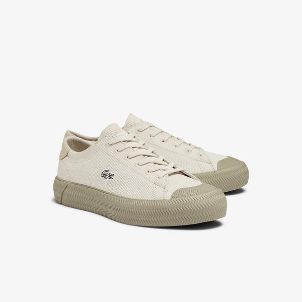 Lacoste Gripshot 1121 1 Cfa Kadın Bej Sneaker
