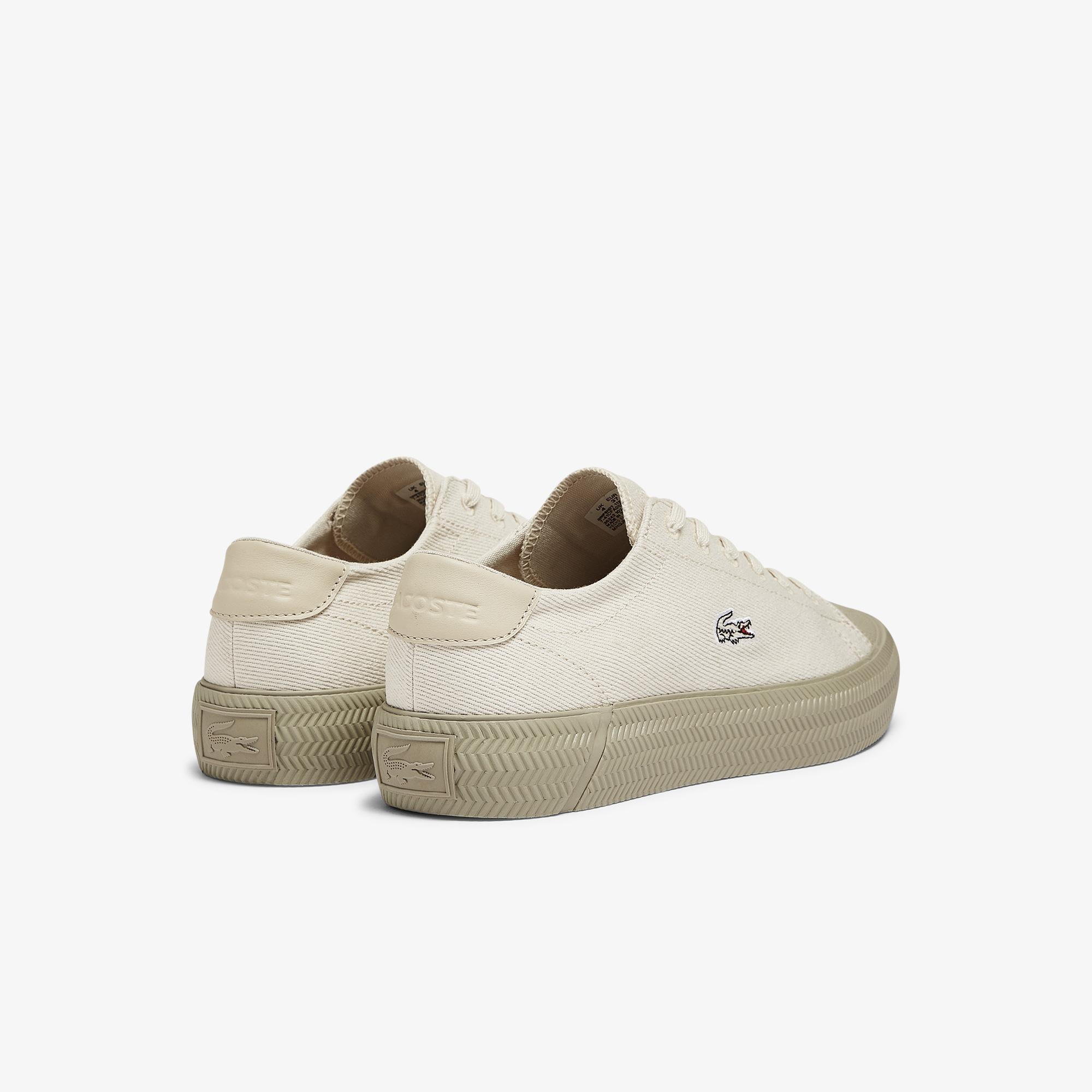 Lacoste Gripshot 1121 1 Cfa Kadın Deri Bej Sneaker