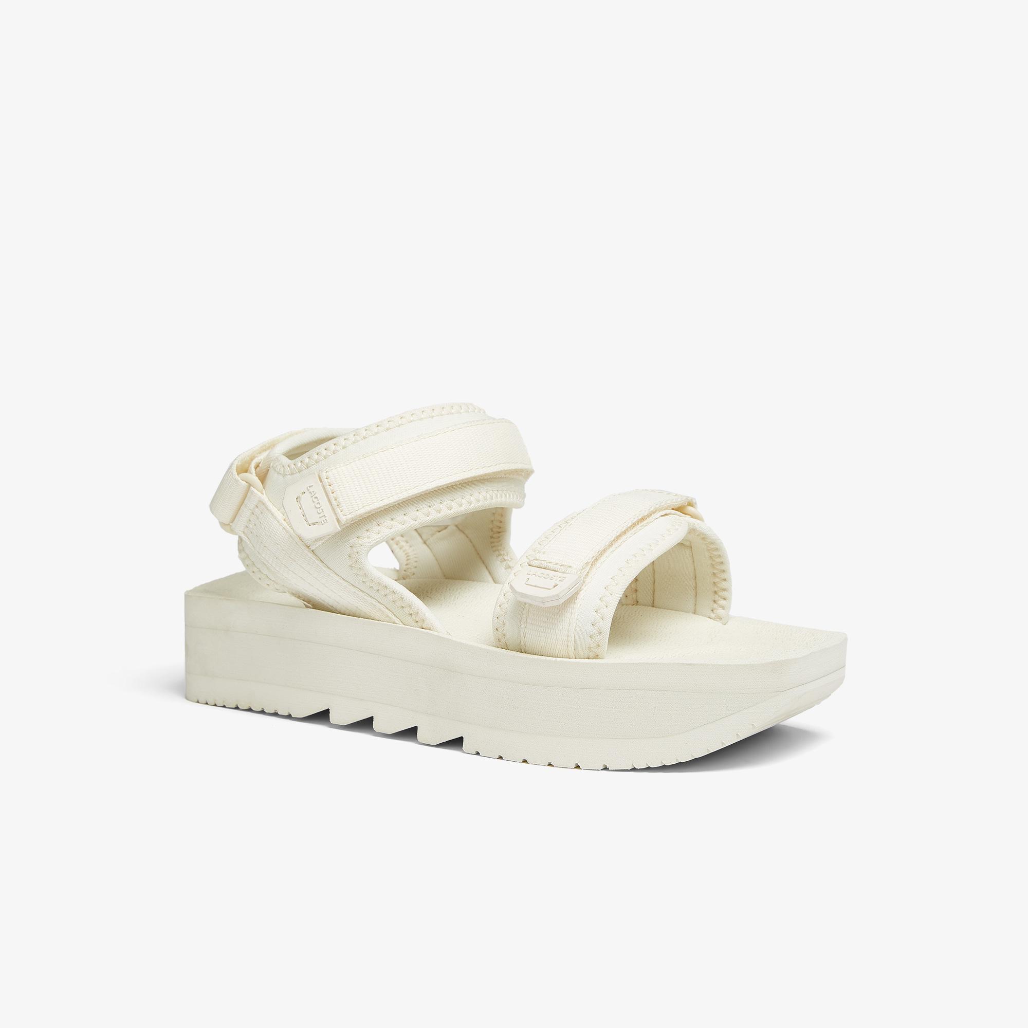Lacoste Suruga Plus 0921 1 Cfa Kadın Beyaz Sandalet