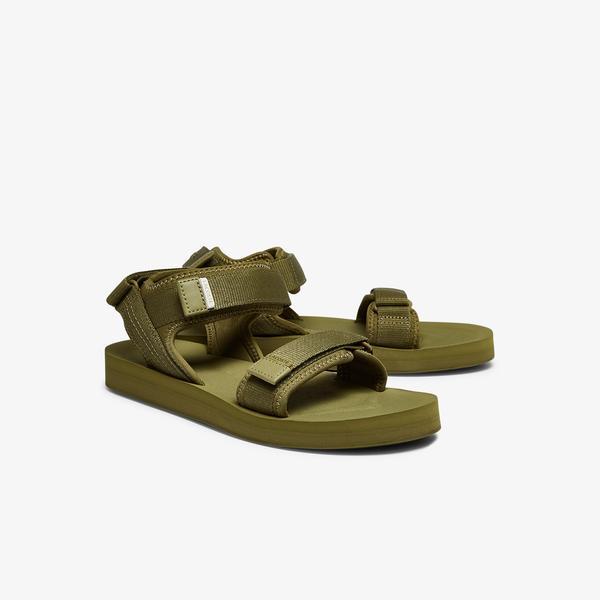 Lacoste Suruga 0921 1 Cma Erkek Haki Sandalet