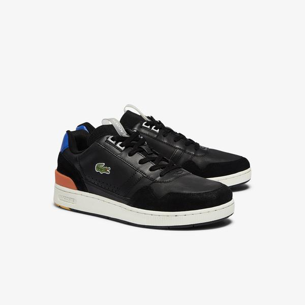 Lacoste T-Clip 0921 1 Sma Erkek Siyah - Mavi Sneaker