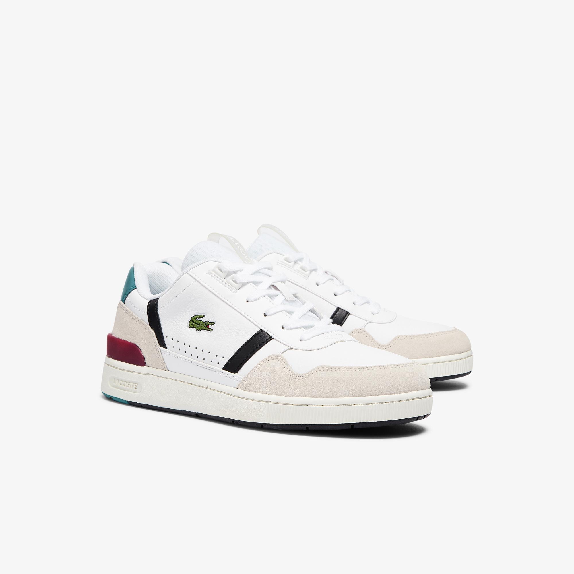 Lacoste T-Clip 0921 1 Sma Erkek Beyaz - Pembe Sneaker