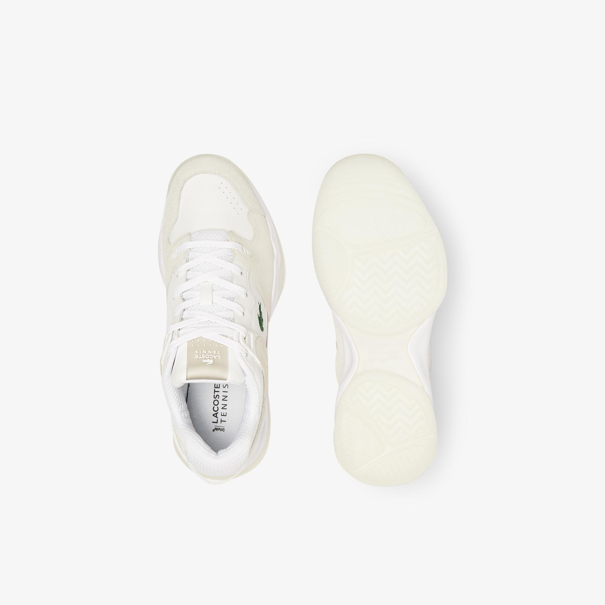 Lacoste T-Point 0721 1 G Sma Erkek Deri Beyaz Sneaker