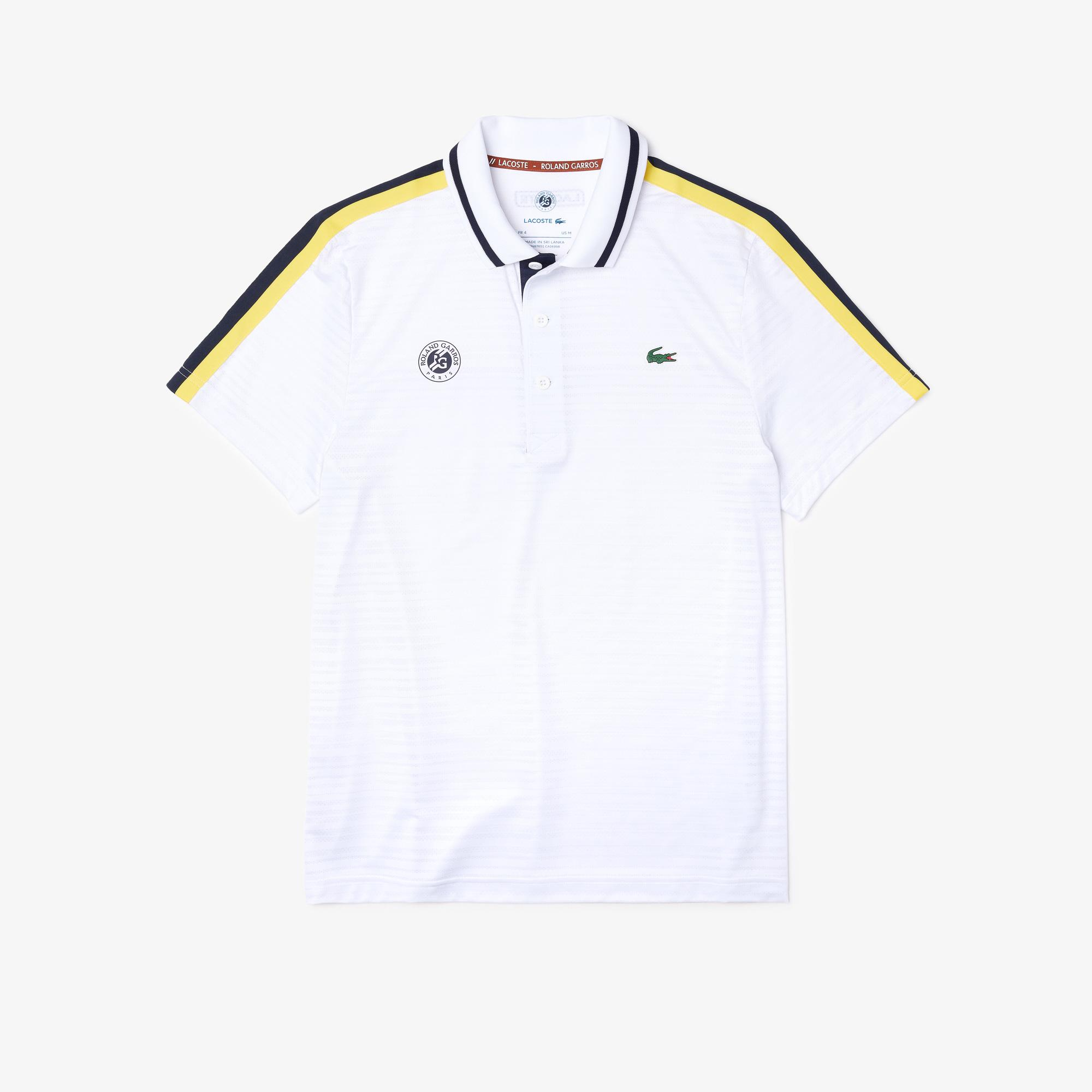 Lacoste Sport Roland Garros Erkek Beyaz Polo