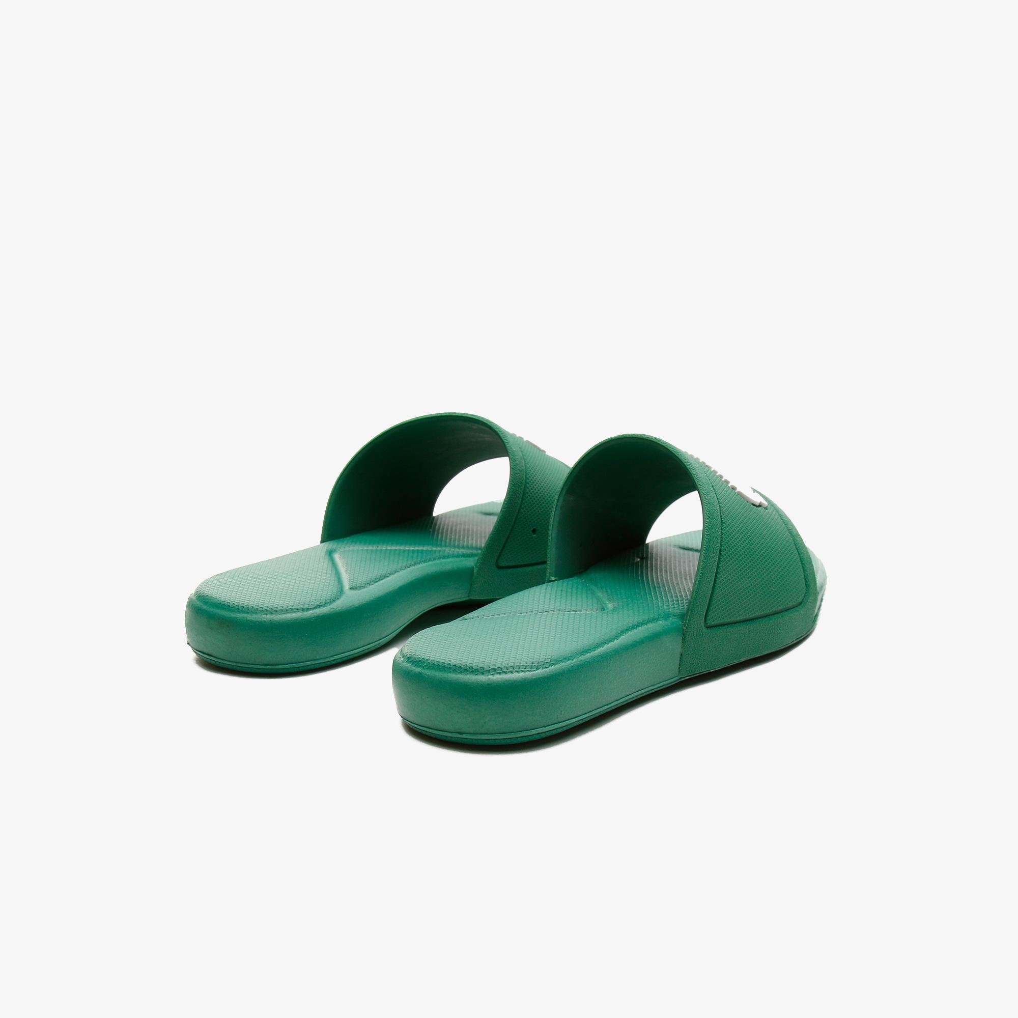 Lacoste L.30 Slide 0921 1 Cuc Çocuk Yeşil - Beyaz Terlik