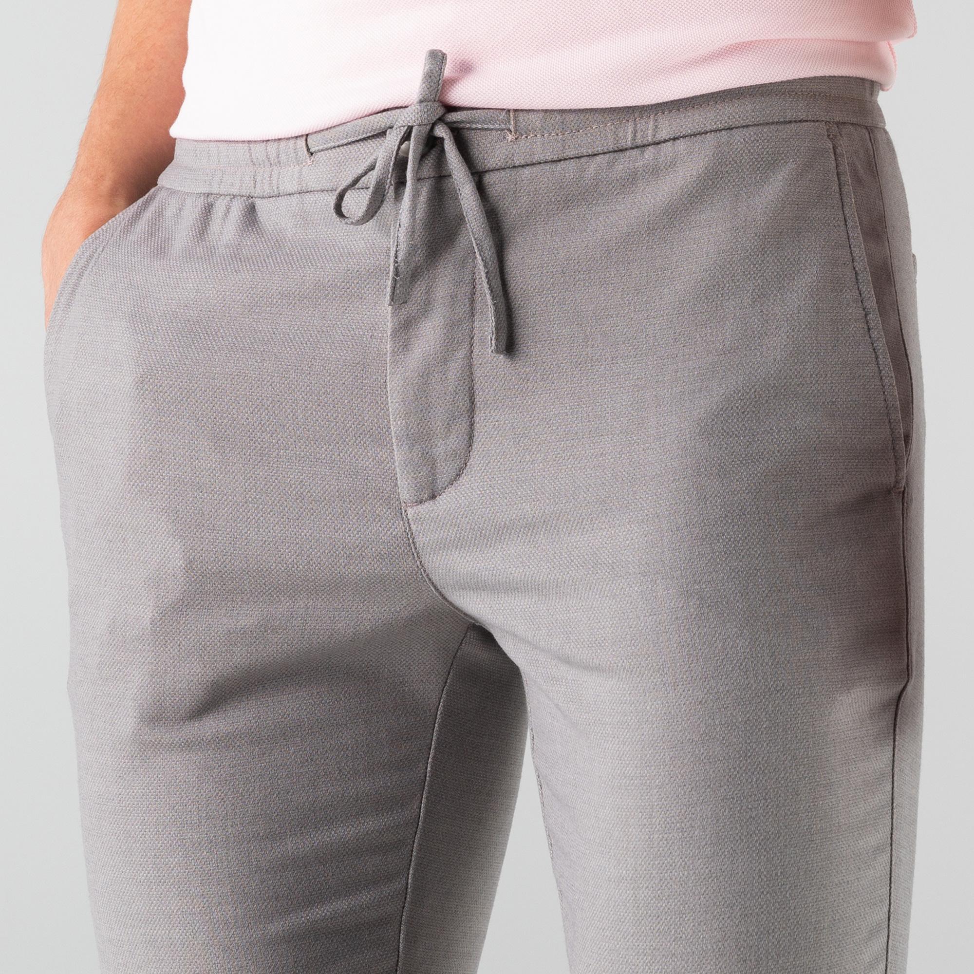 Lacoste Erkek Gri Jogger Pantolon