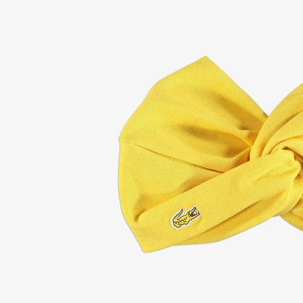 Lacoste Kadın Sarı Saç Bandı