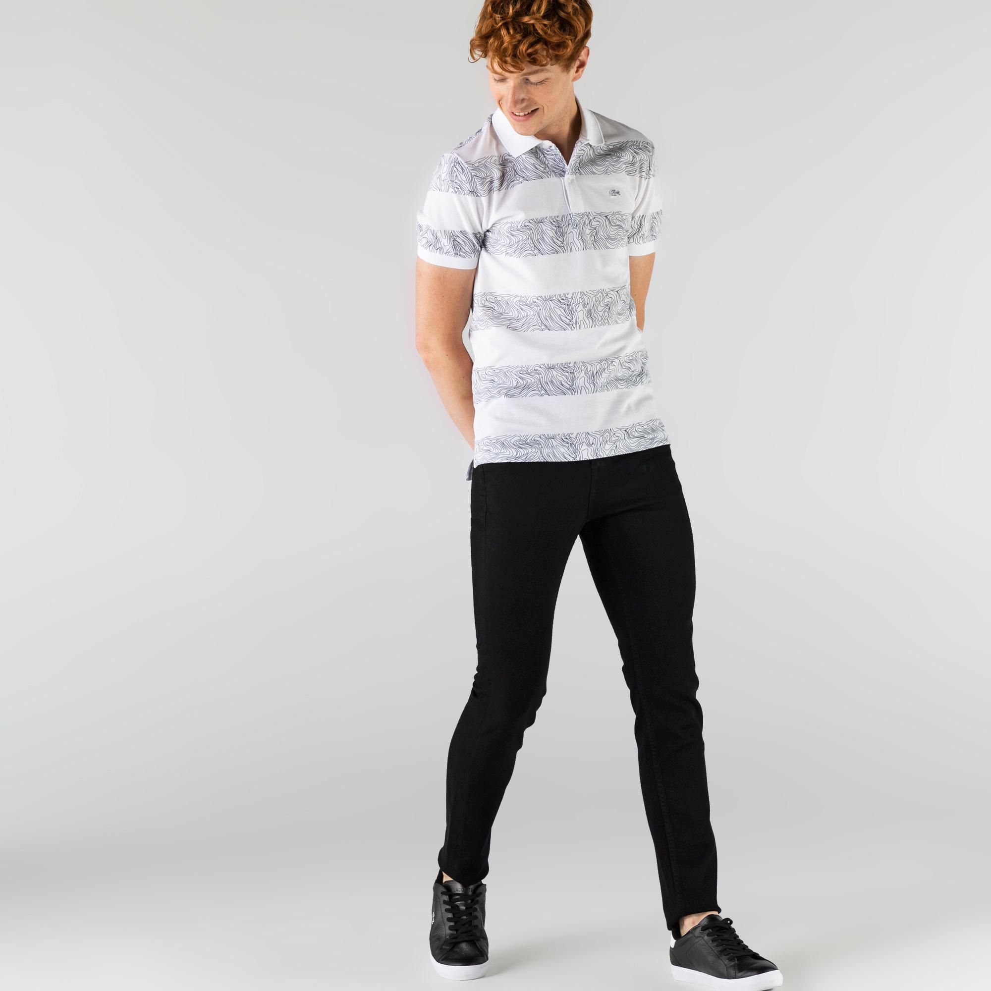 Lacoste Erkek Denim Siyah Pantolon
