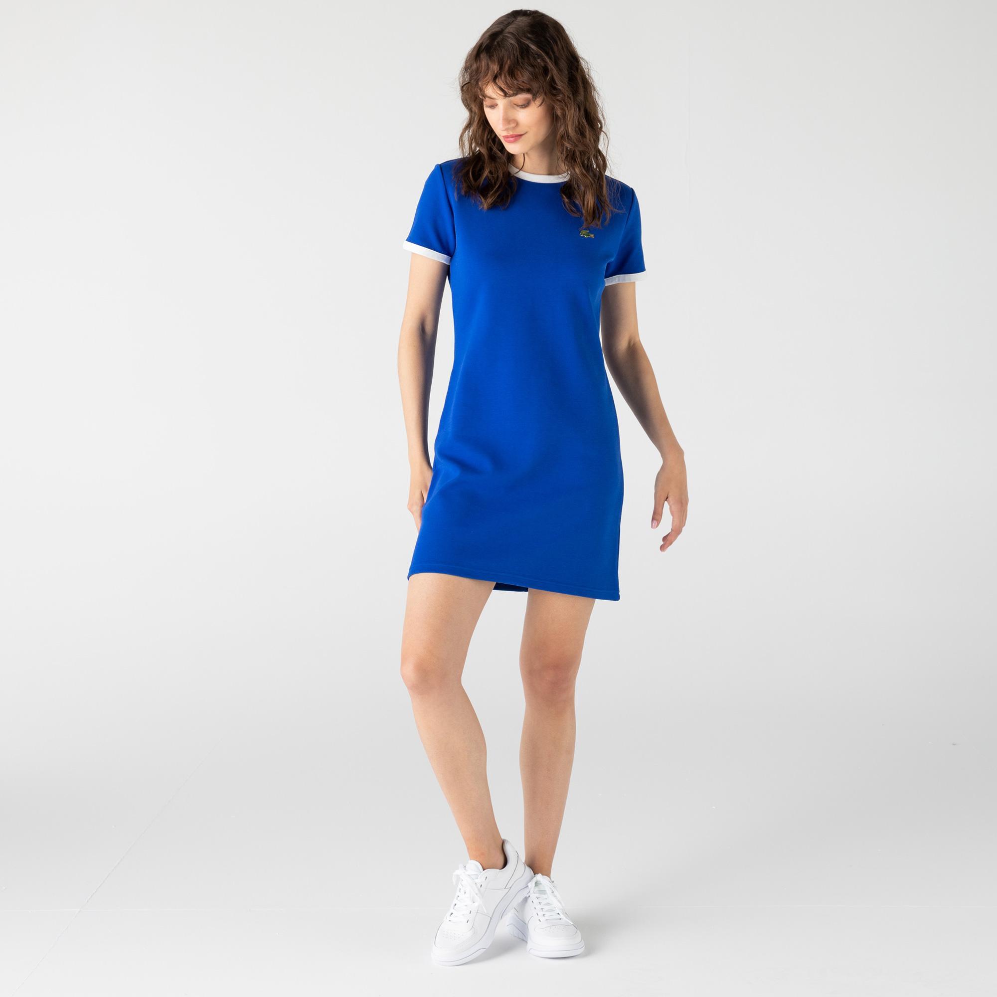 Lacoste L!Ve Kadın Saks Mavi Elbise