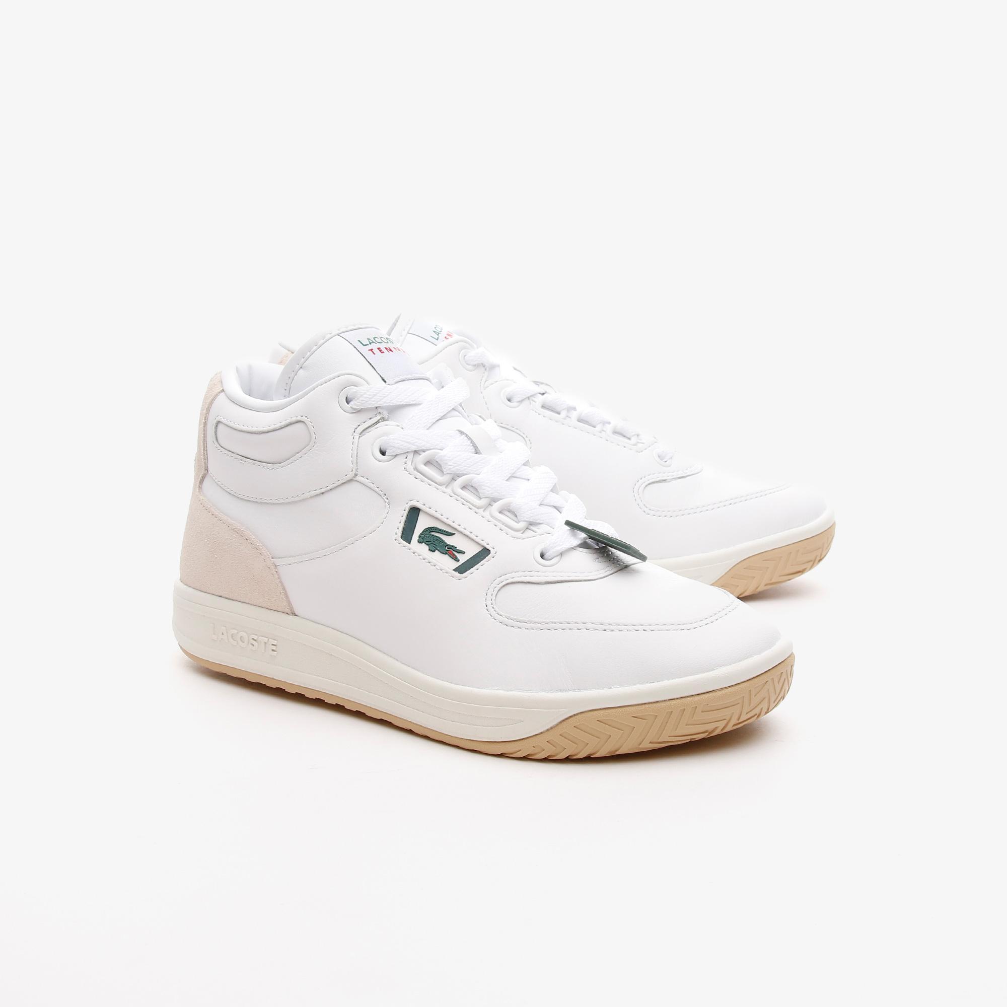 Lacoste Balsa 0721 1 Sma Erkek Beyaz - Koyu Yeşil Sneaker