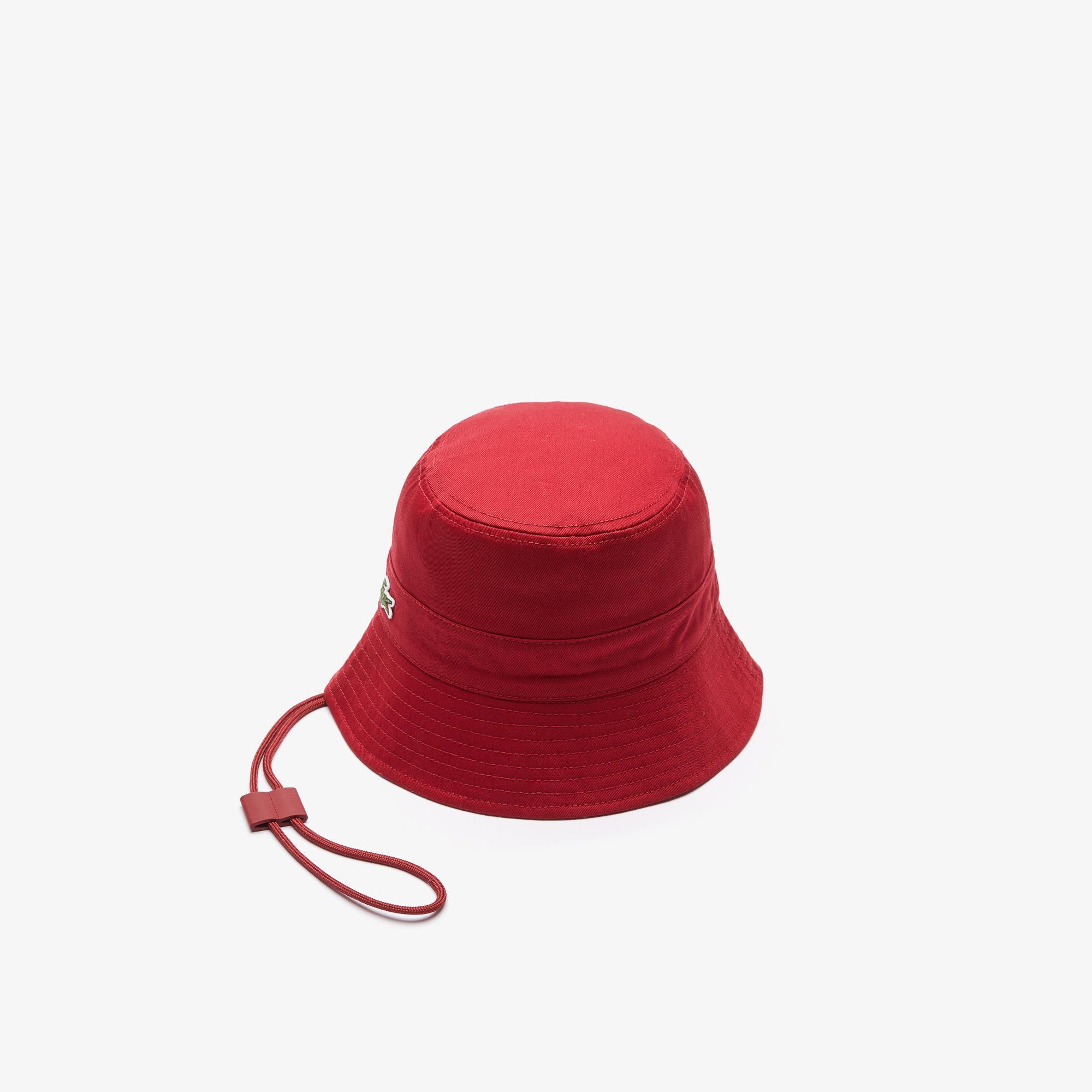 Lacoste Kadın Bordo Şapka