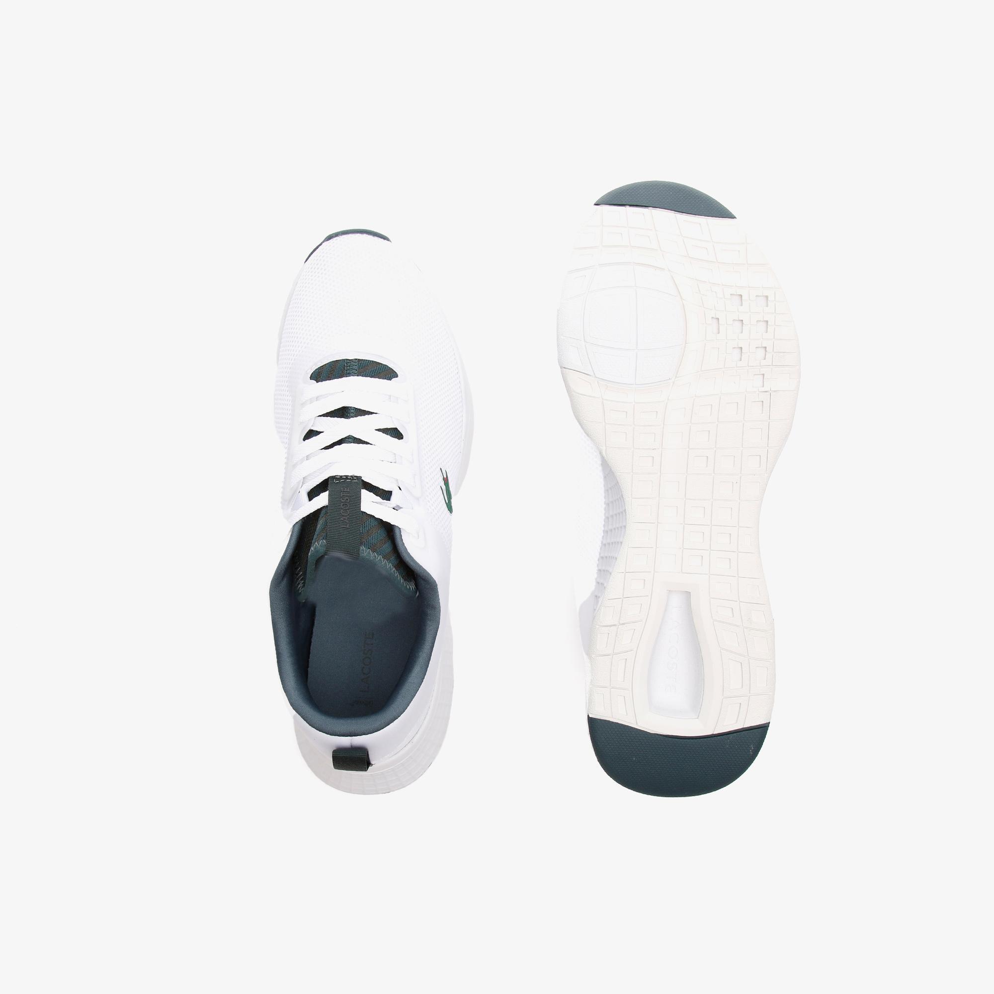 Lacoste Court-Drive 0721 1 Sma Erkek Beyaz - Koyu Yeşil Sneaker