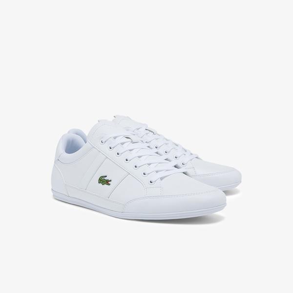 Lacoste Chaymon Bl21 1 Erkek Beyaz Sneaker
