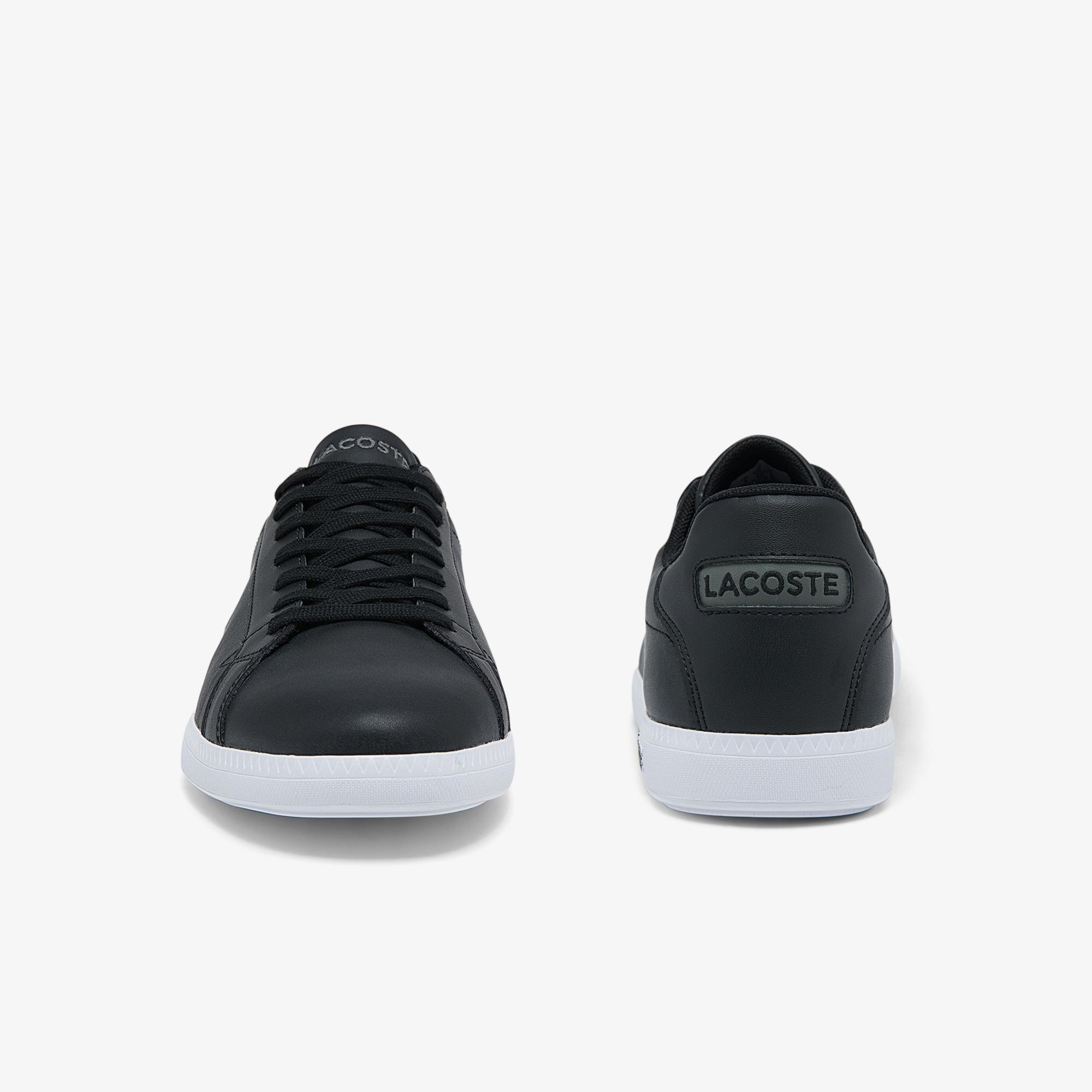 Lacoste Graduate Bl21 1 Sma Erkek Siyah Sneaker