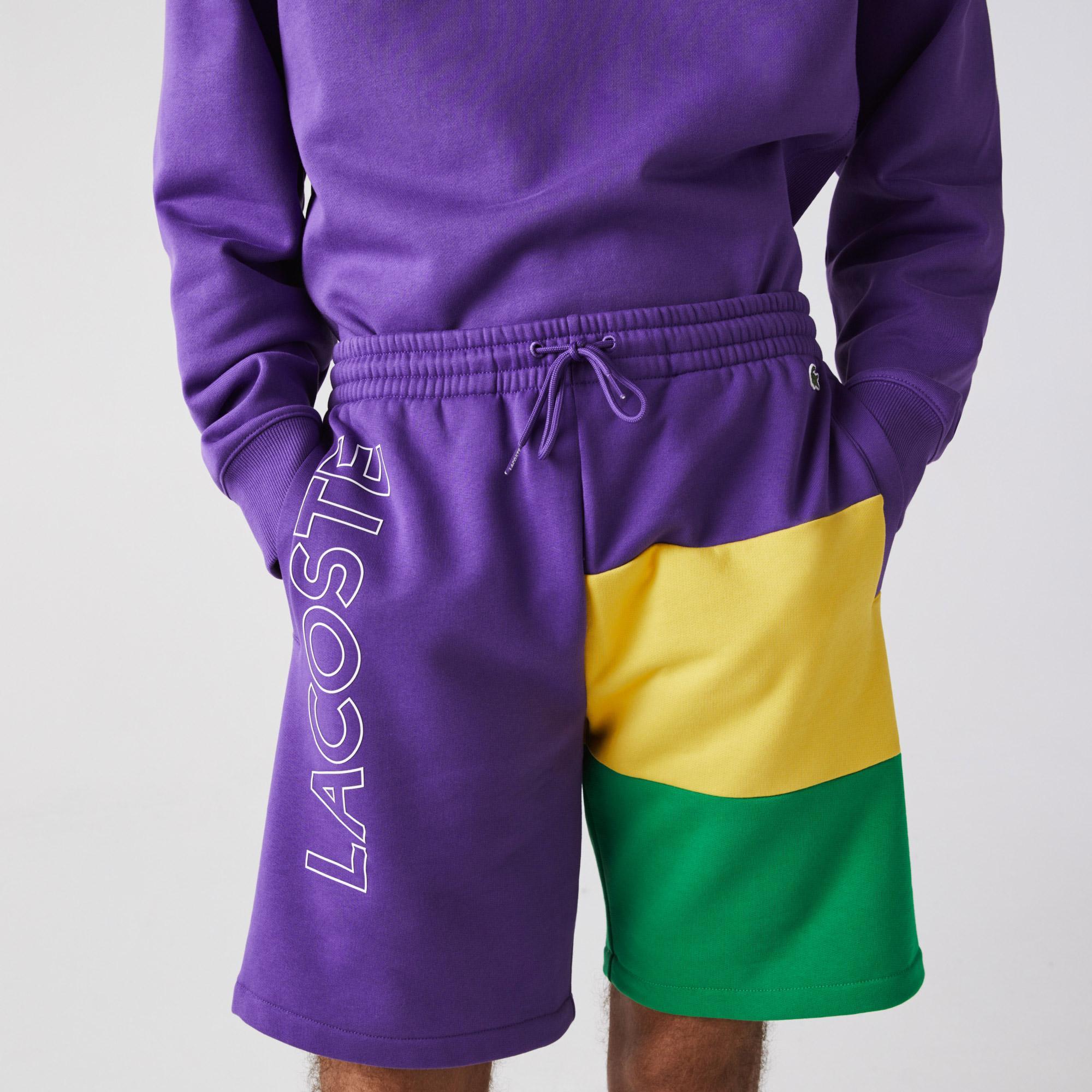 Lacoste Erkek Regular Fit Baskılı Renkli Şort