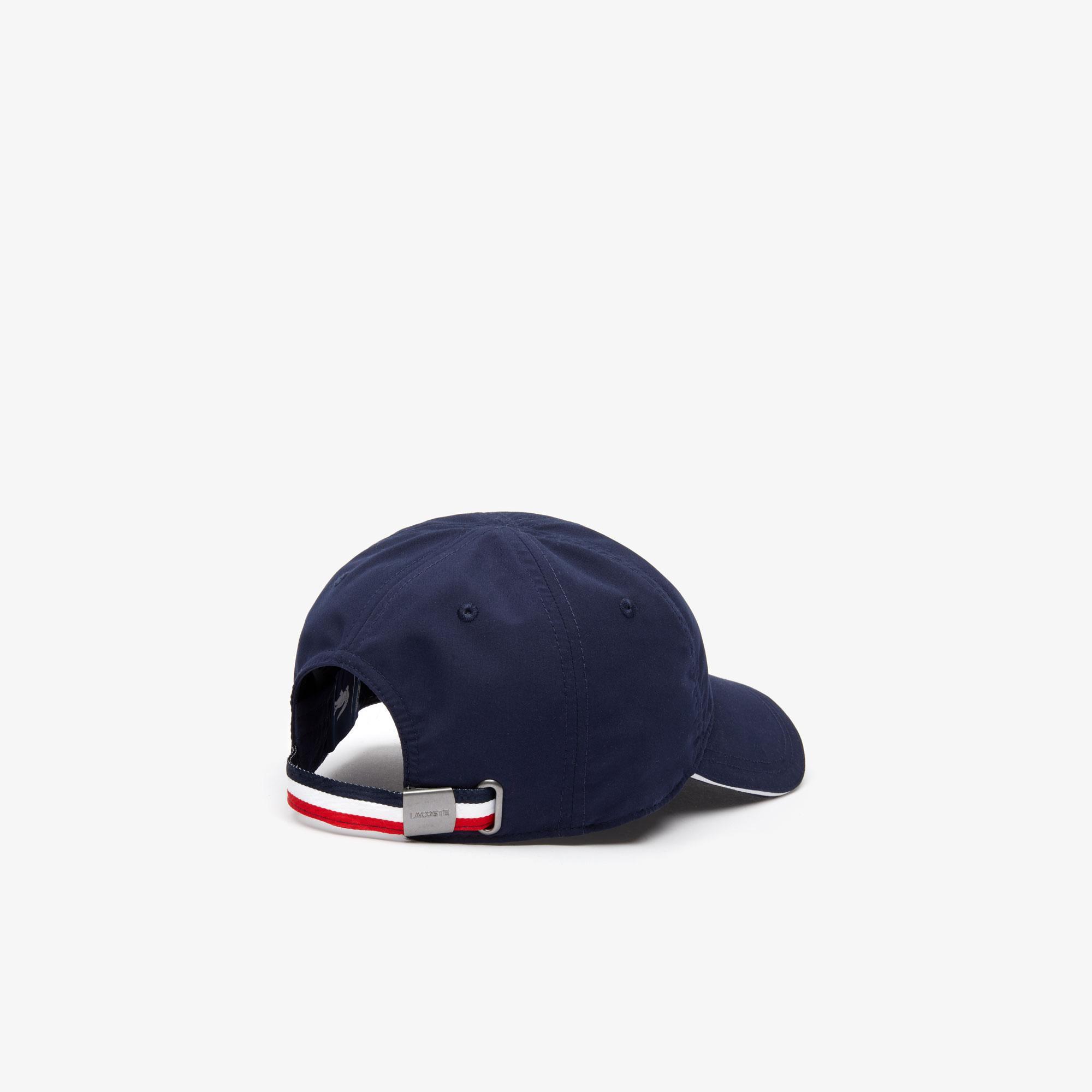 Lacoste X Tokyo Olympics Sport Erkek Timsah Baskılı Lacivert Şapka
