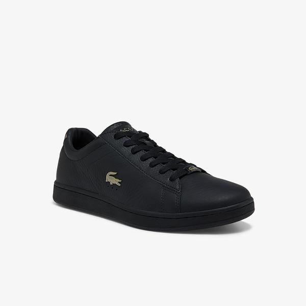 Lacoste Carnaby Evo 0721 3 Sma Erkek Siyah Sneaker
