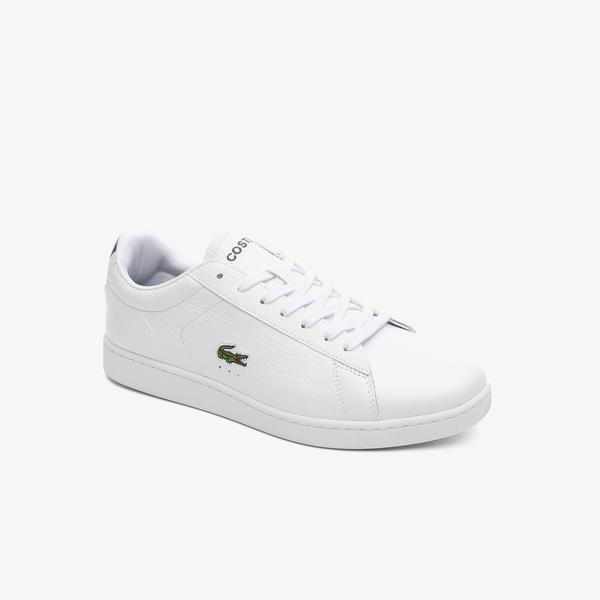 Lacoste Carnaby Evo 0721 4 Sma Erkek Beyaz Sneaker