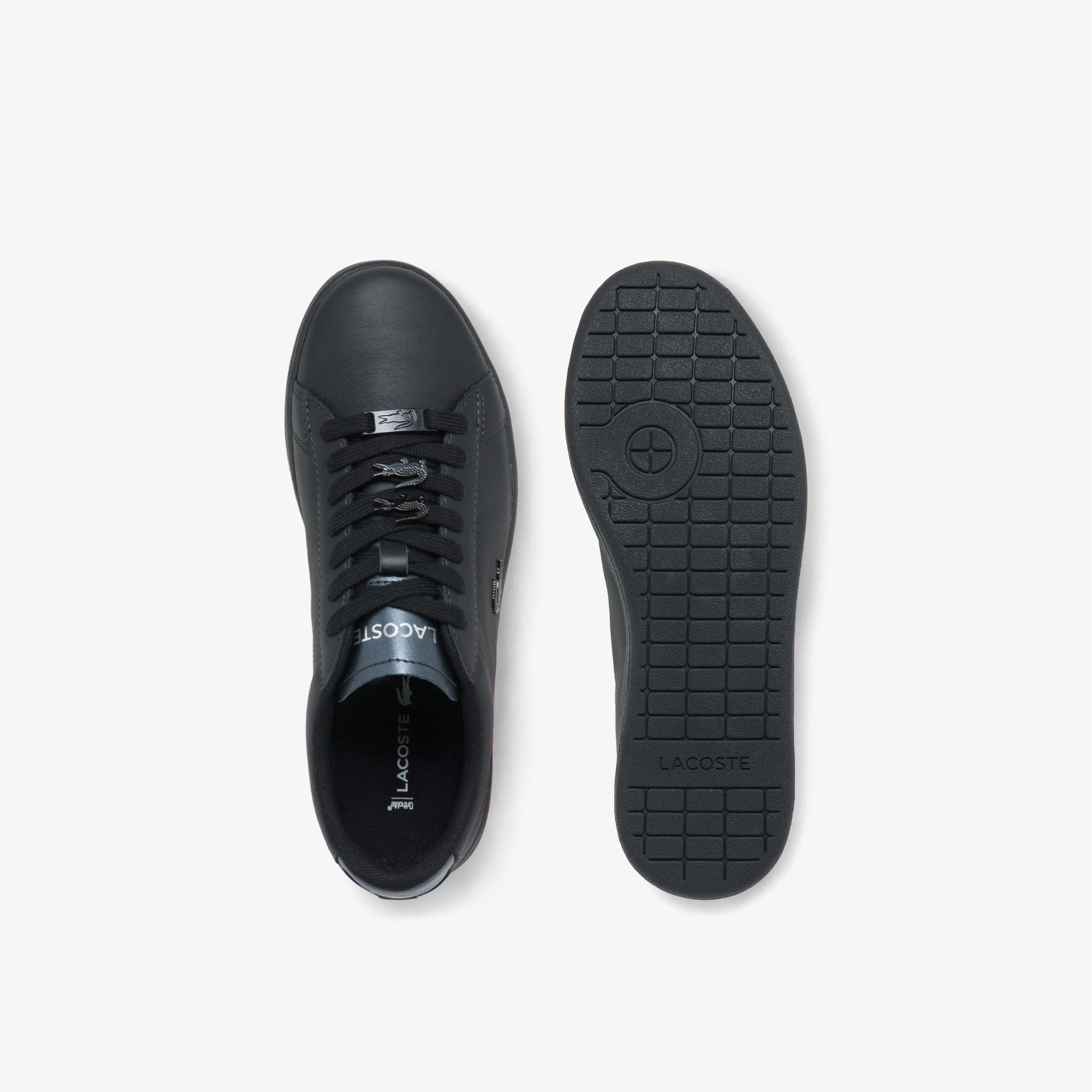 Lacoste Carnaby Evo 0521 1 Sfa Kadın Deri Siyah Sneaker