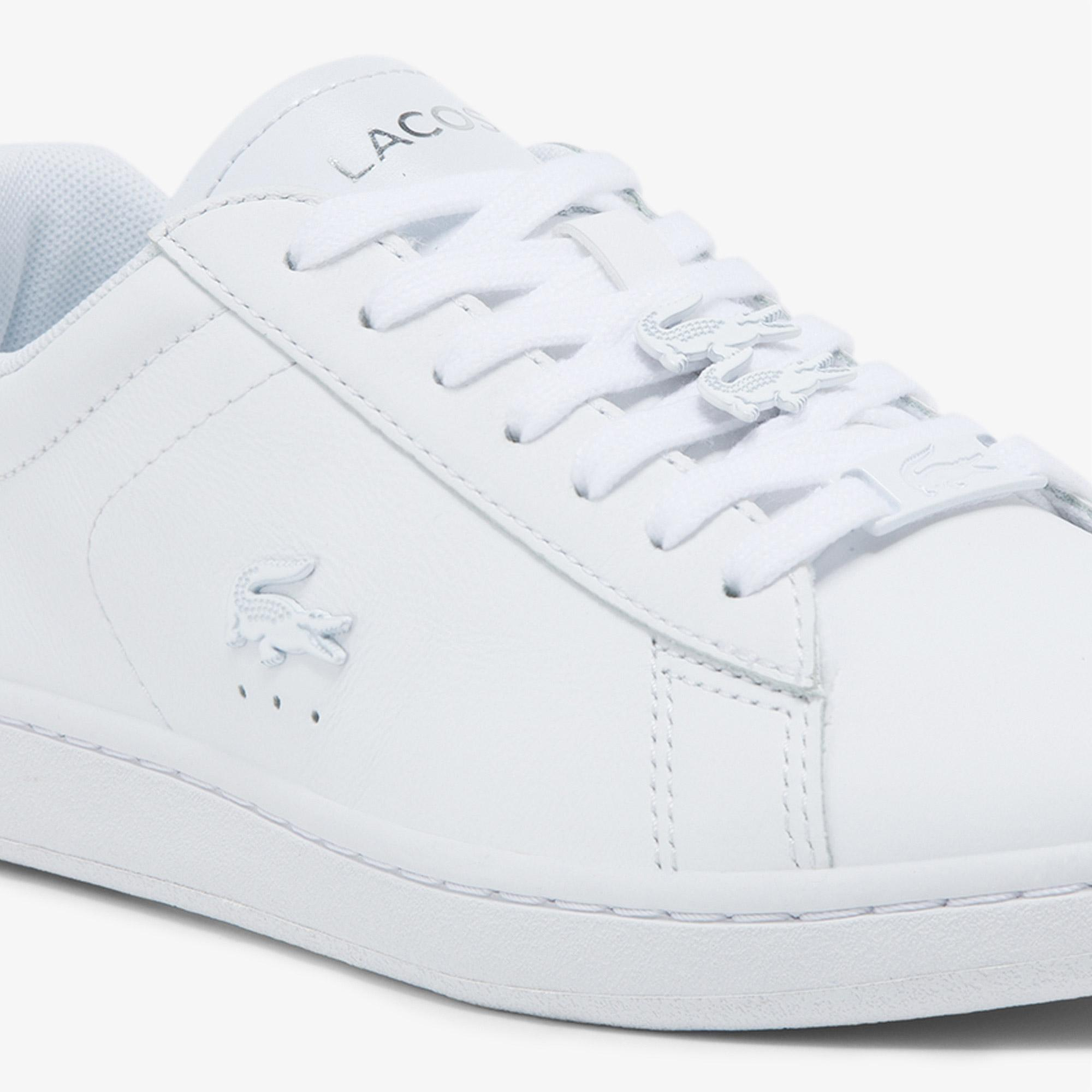 Lacoste Carnaby Evo 0521 1 Sfa Kadın Deri Beyaz Sneaker