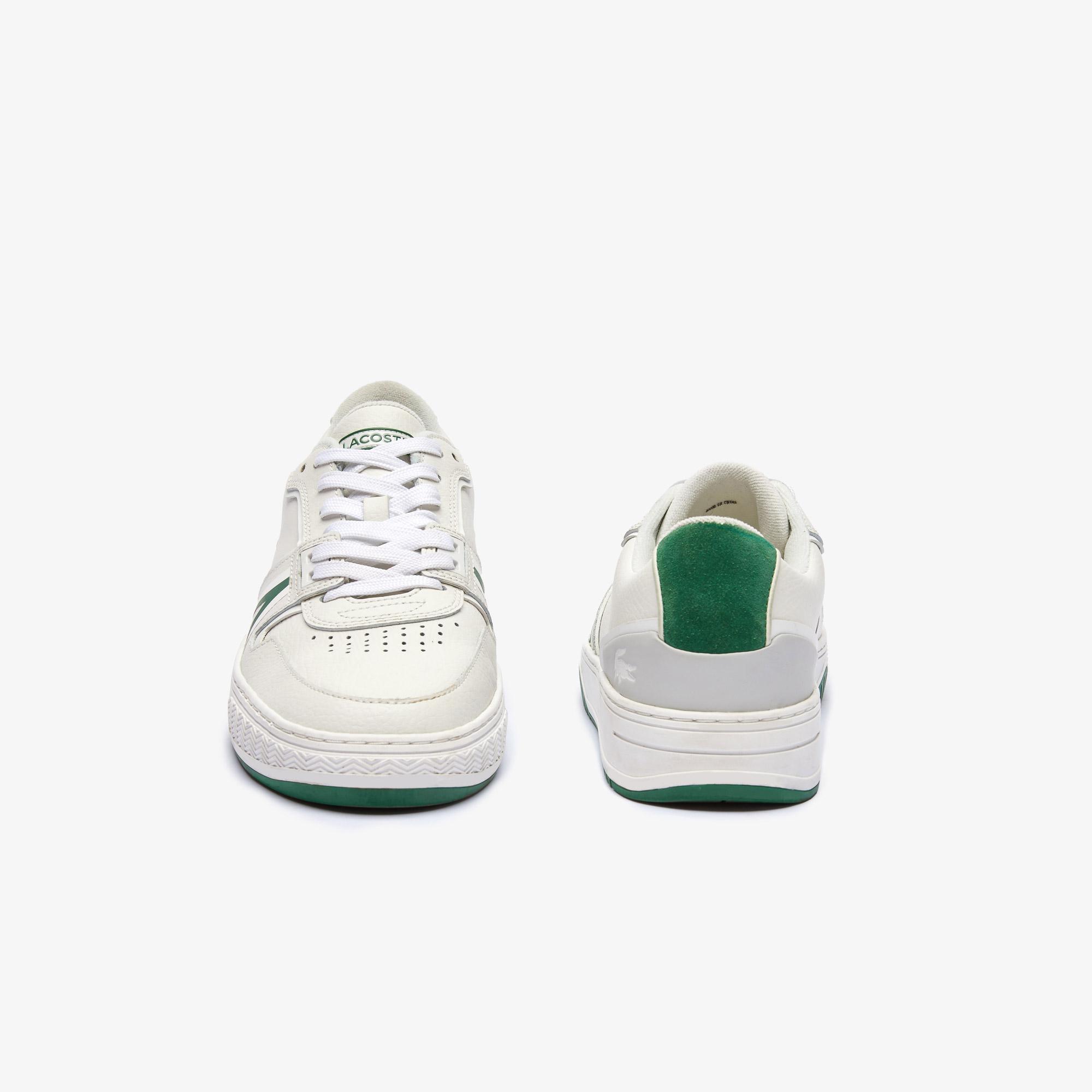 Lacoste L001 0321 1 Sma Erkek Deri Beyaz - Yeşil Sneaker