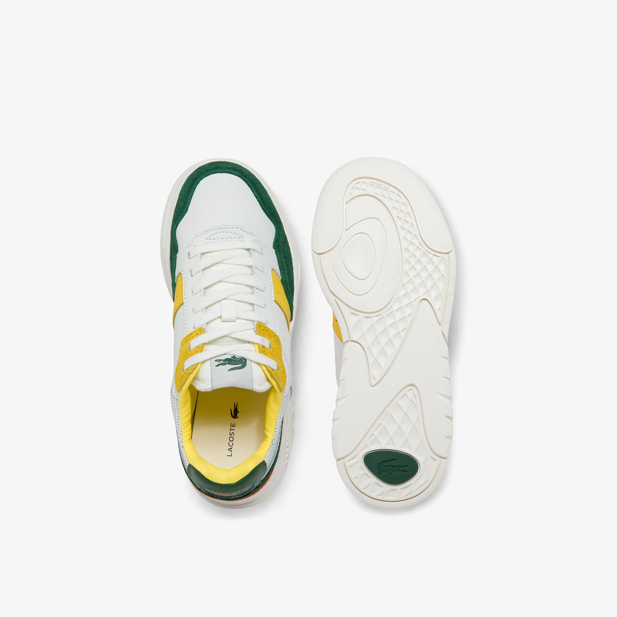Lacoste Game Advance Luxe01214Sfa Kadın Deri Beyaz - Yeşil Sneaker