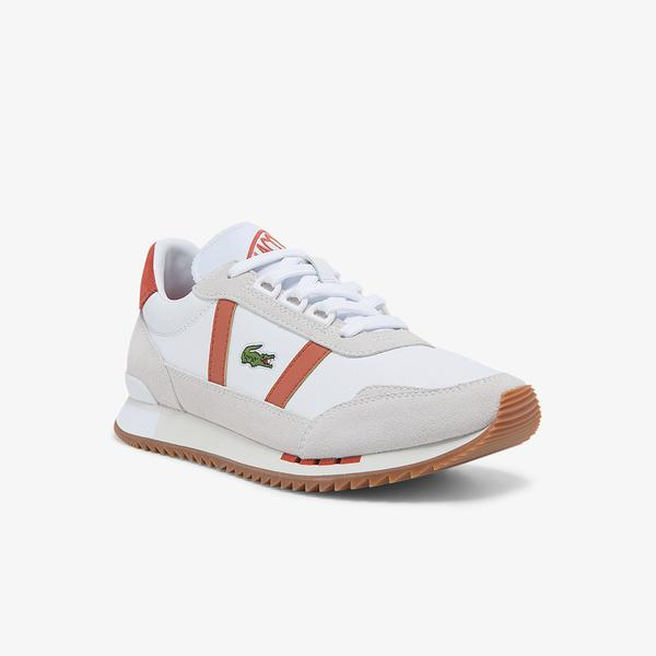 Lacoste Partner Retro Kadın Bej Sneaker