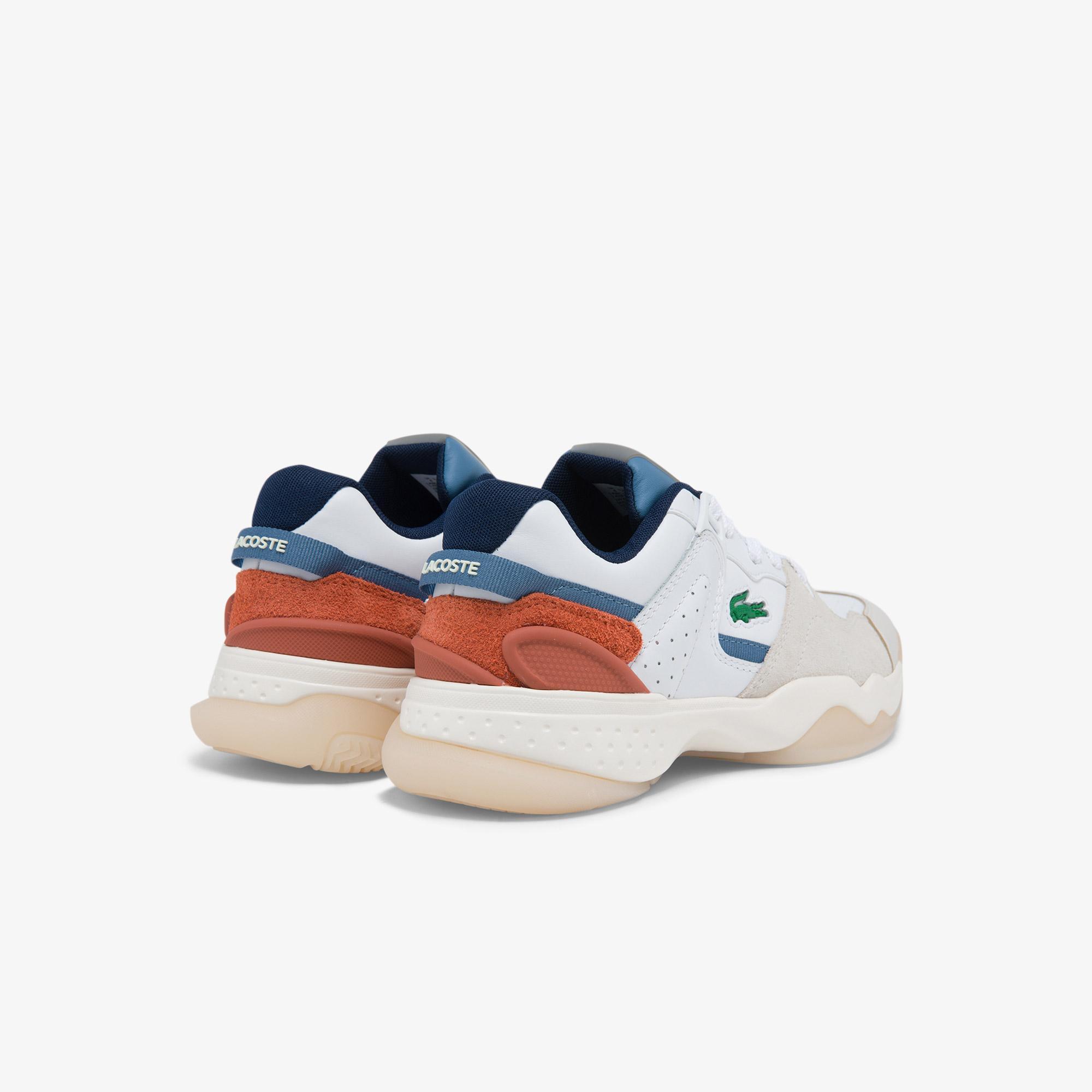 Lacoste T-Point 0121 3 Sfa Kadın Deri Renkli Sneaker