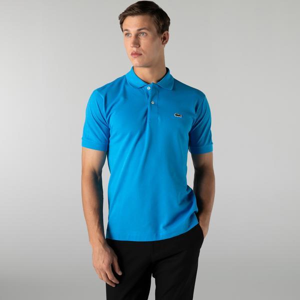 Lacoste Erkek Classic Fit L1212 Mavi Polo
