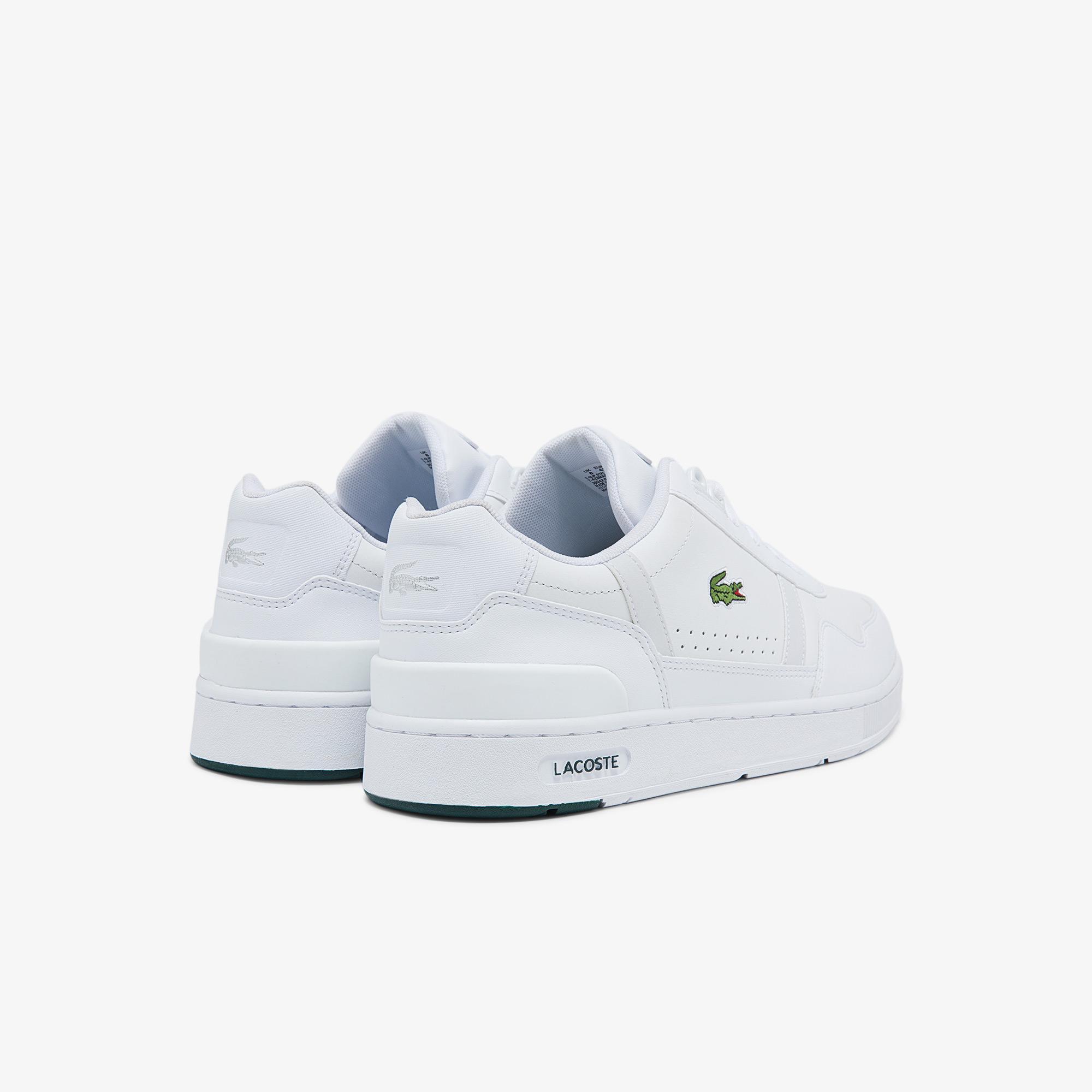 Lacoste T-Clip 0121 2 Sma Erkek Deri Beyaz Sneaker