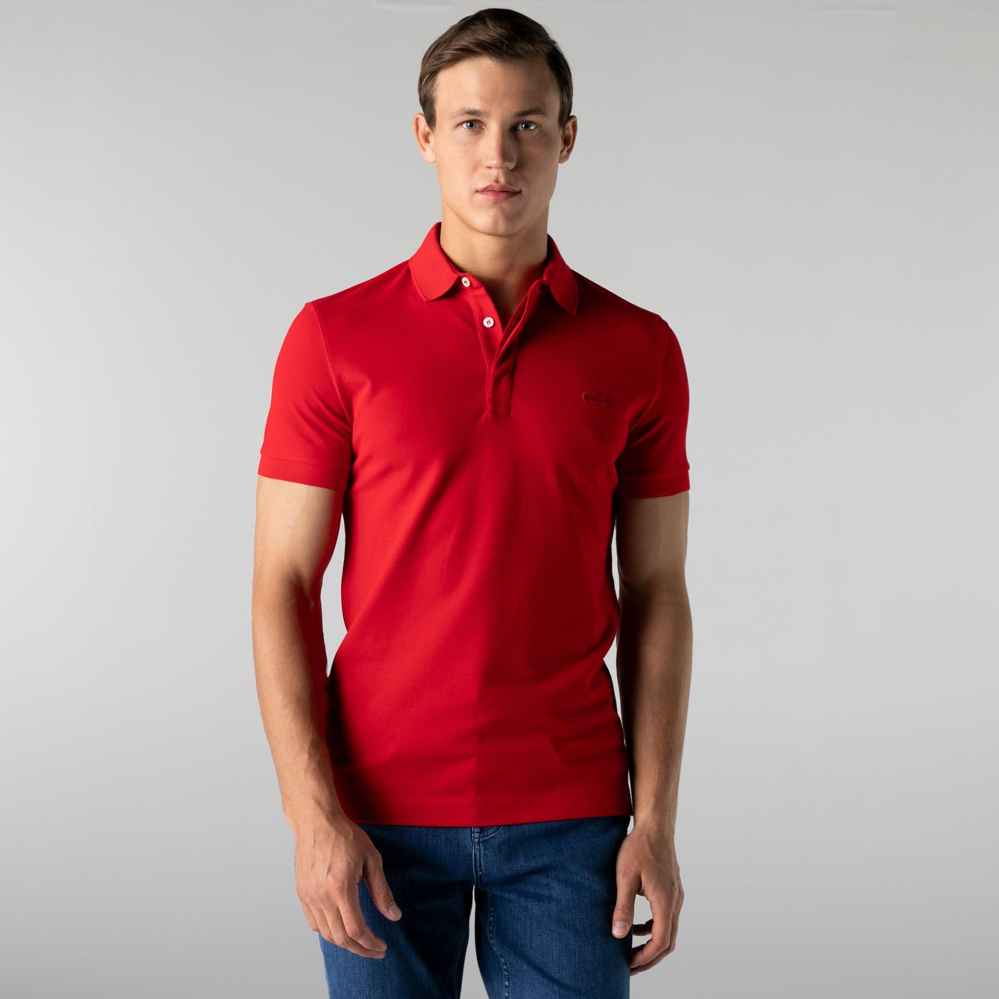 Lacoste Erkek Regular Fit Kırmızı Polo